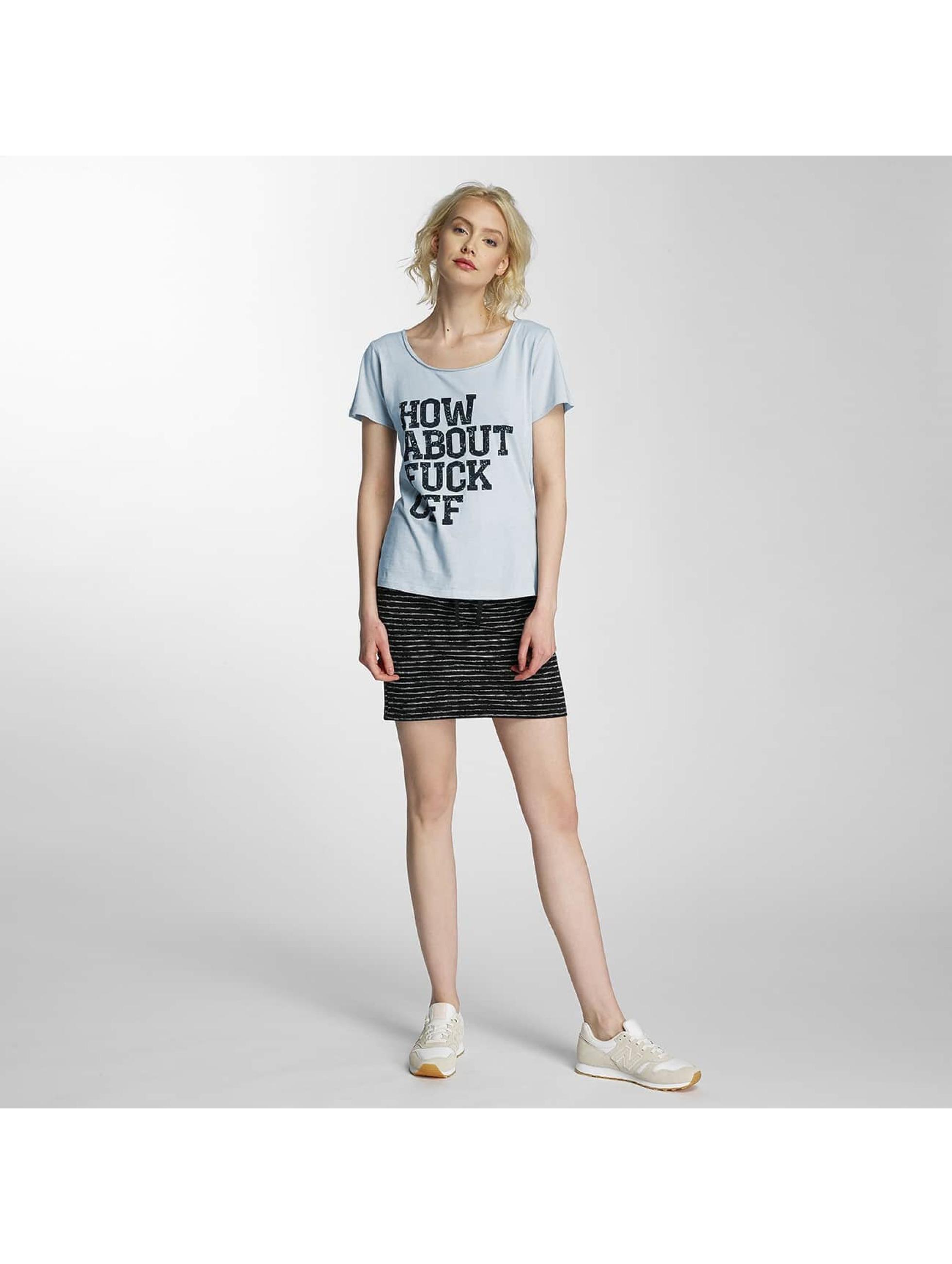 JACQUELINE de YONG T-Shirt jdyGlow Print blue