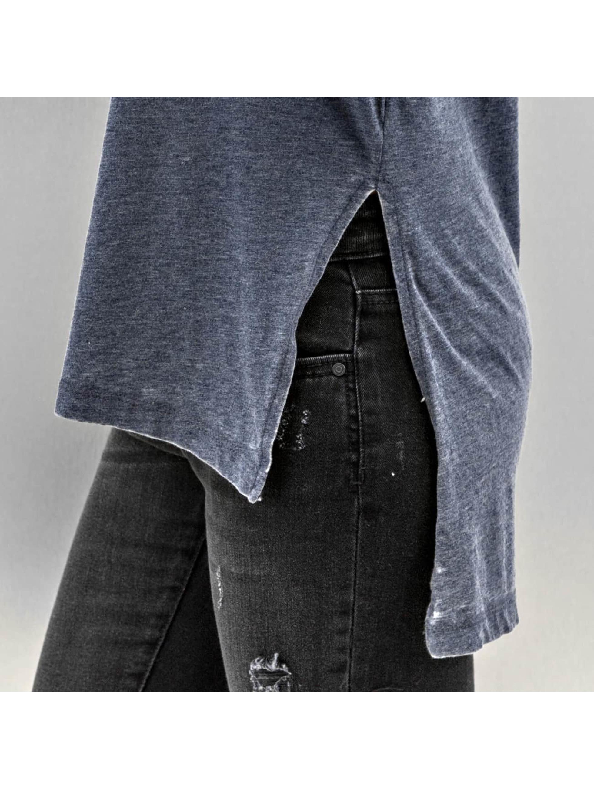 JACQUELINE de YONG T-Shirt manches longues JdyBurn L/S Tunic bleu