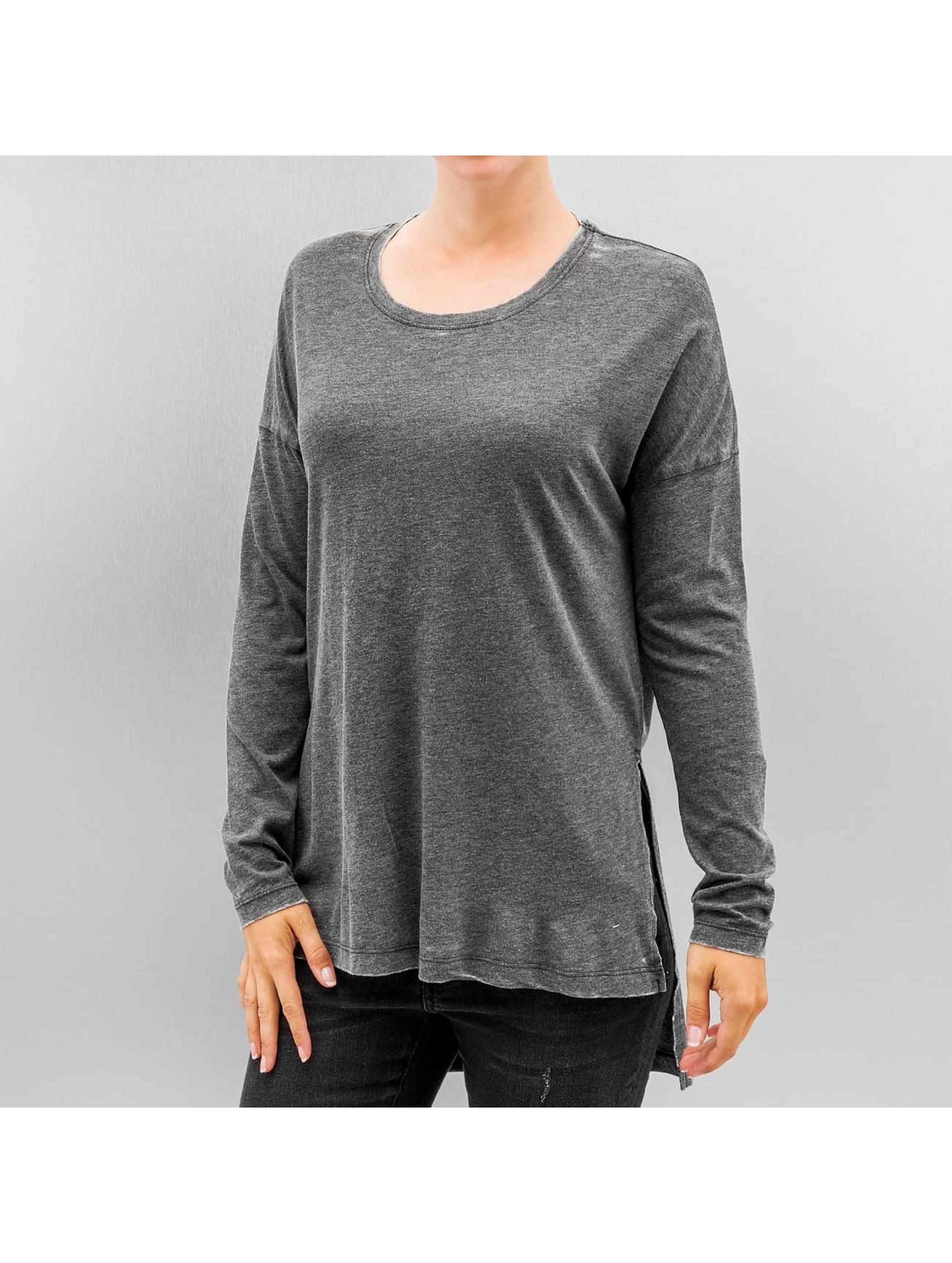 JACQUELINE de YONG T-Shirt manches longues JdyBurn L/S Tunic noir