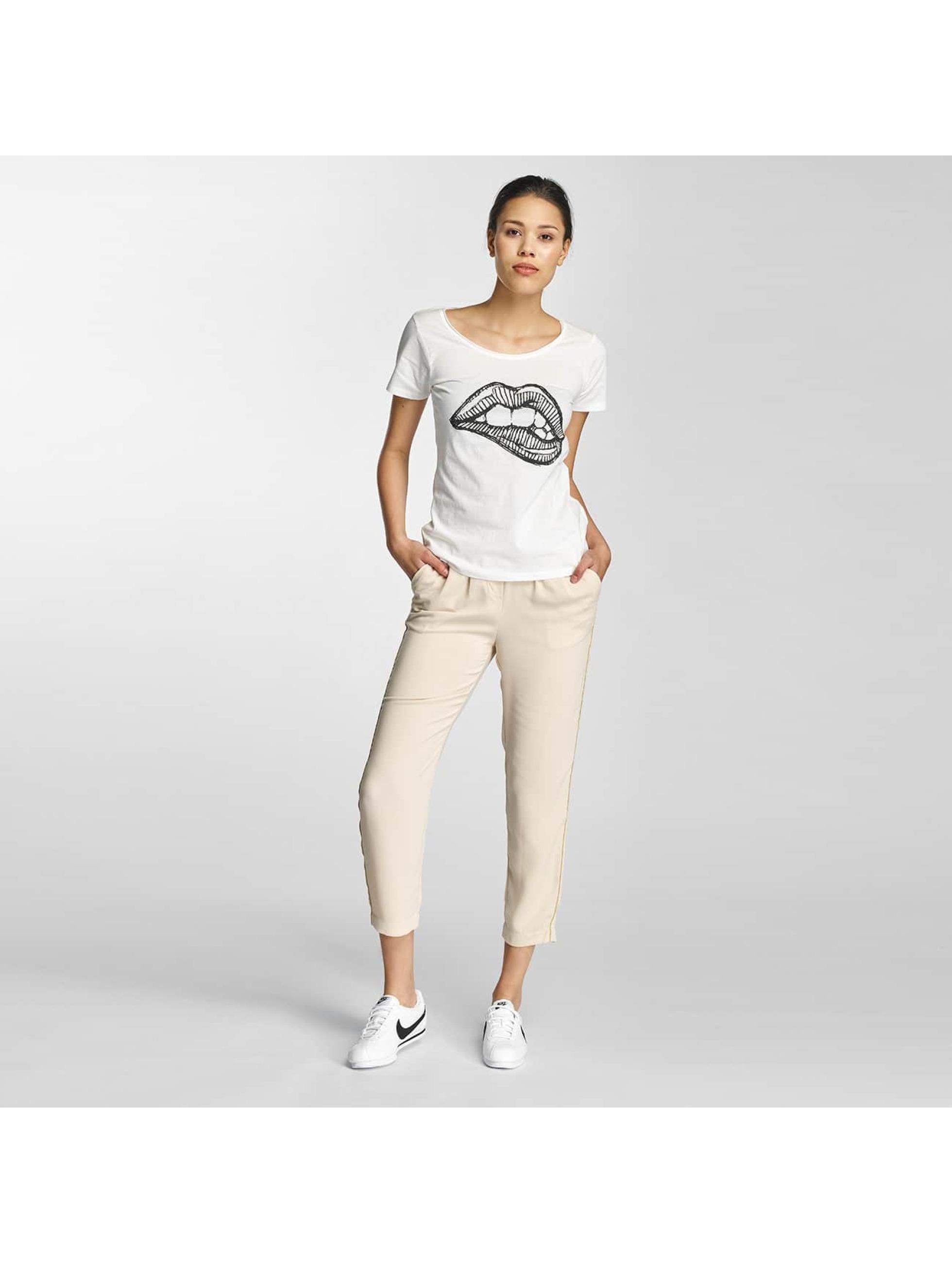 JACQUELINE de YONG T-Shirt jdyGlow weiß