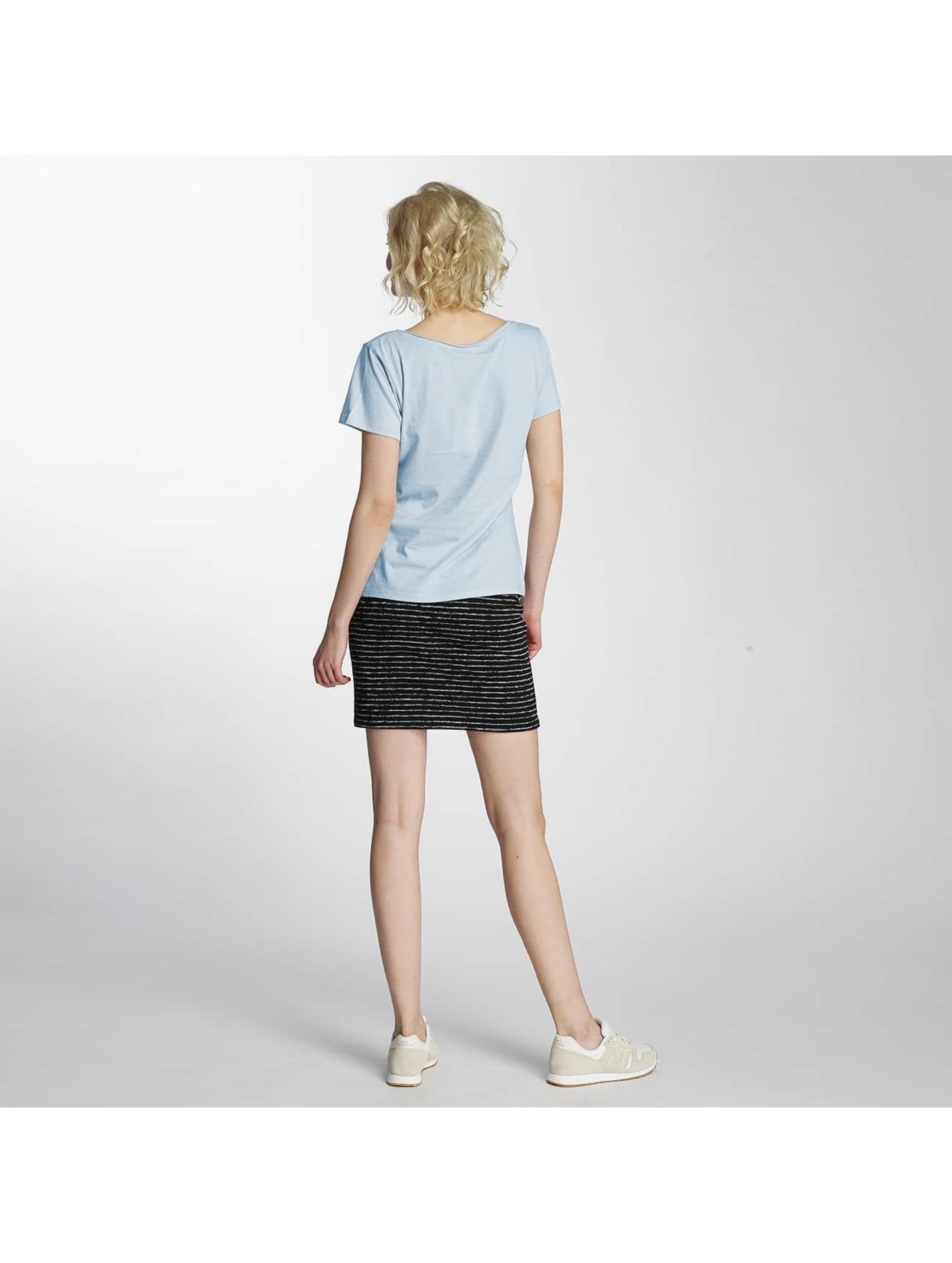 JACQUELINE de YONG T-Shirty jdyGlow Print niebieski