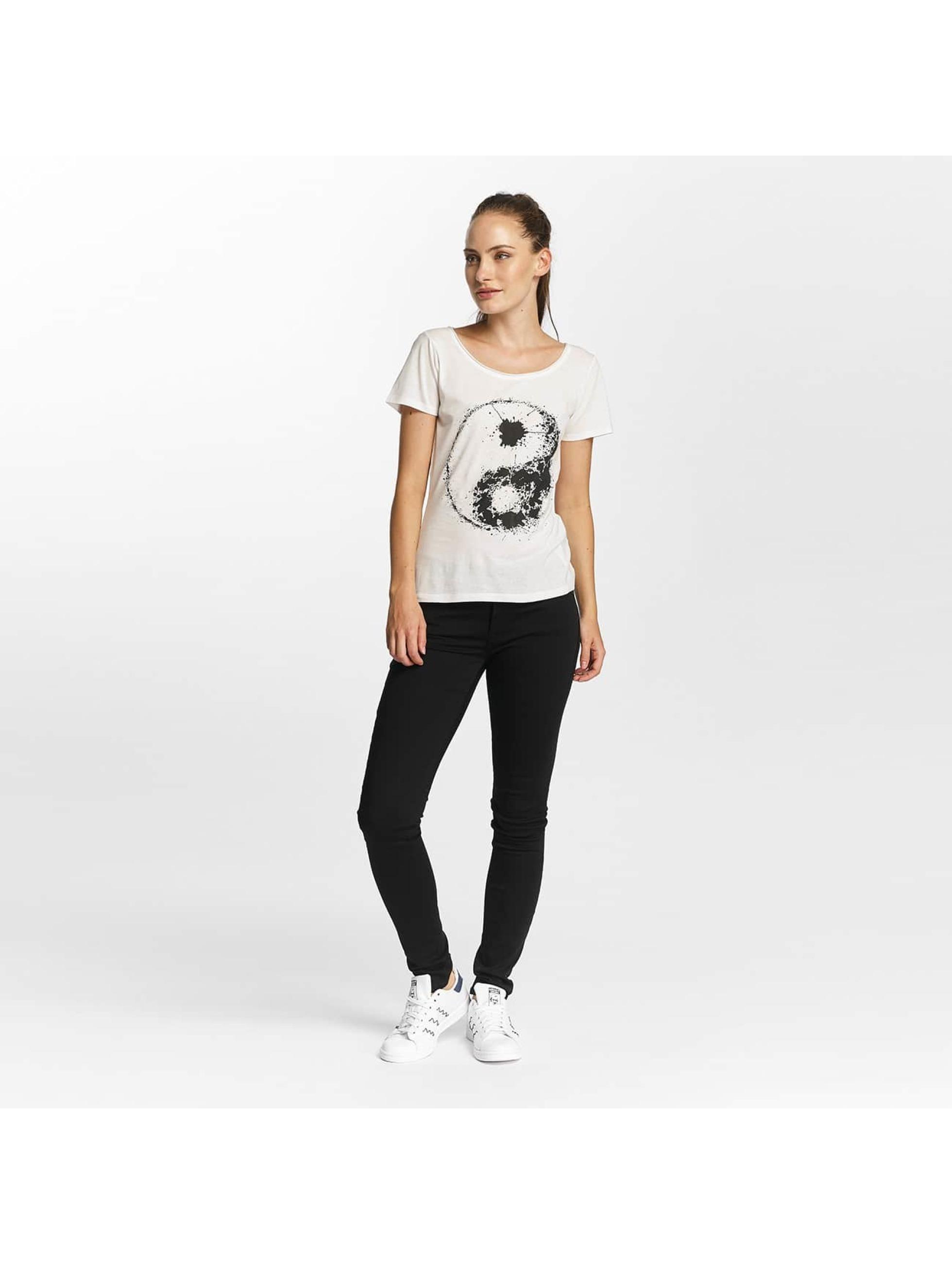 JACQUELINE de YONG T-skjorter jdyGlow hvit