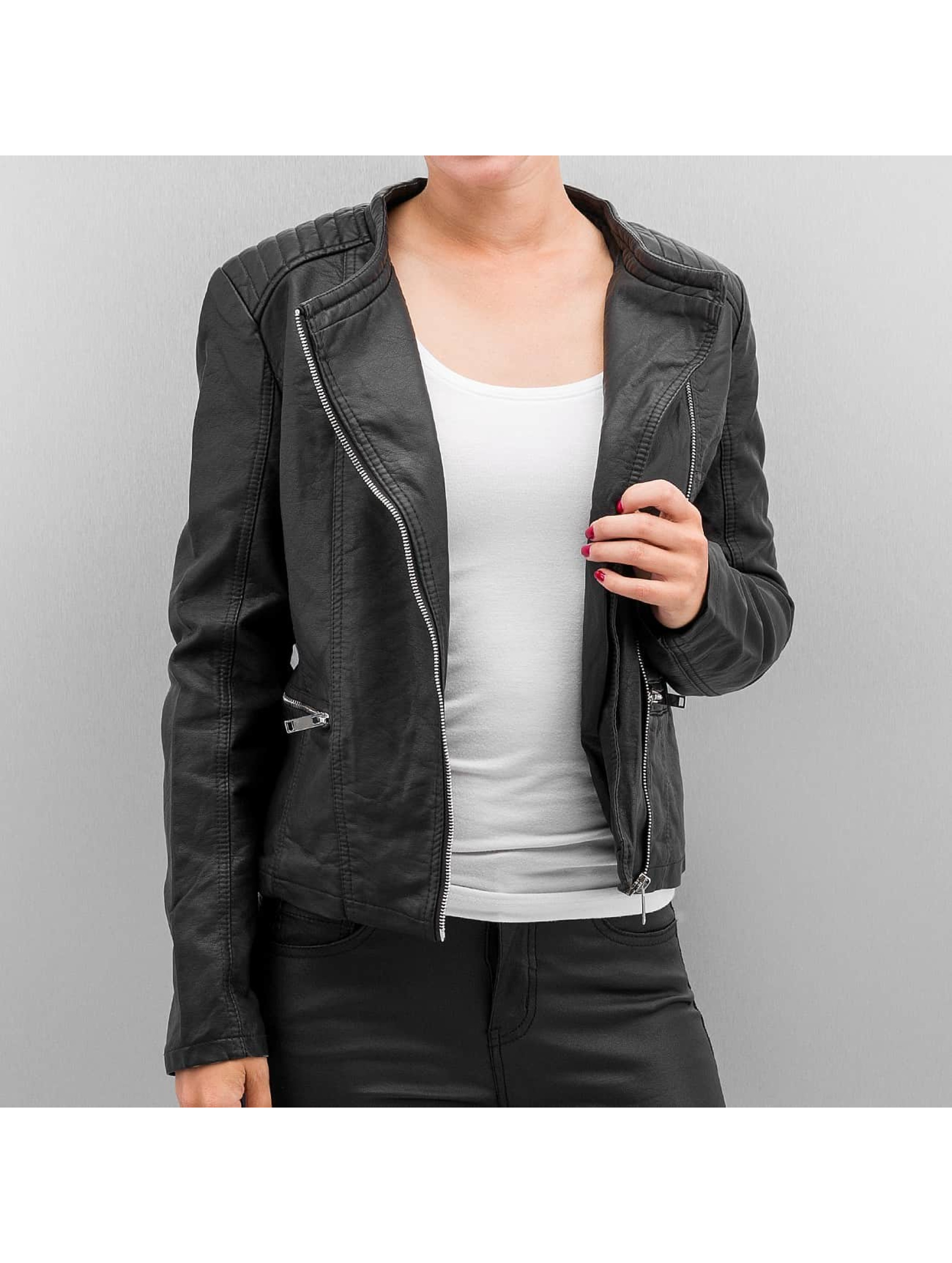 JACQUELINE de YONG Veste/Blouson / Veste en cuir JDYAnika en noir