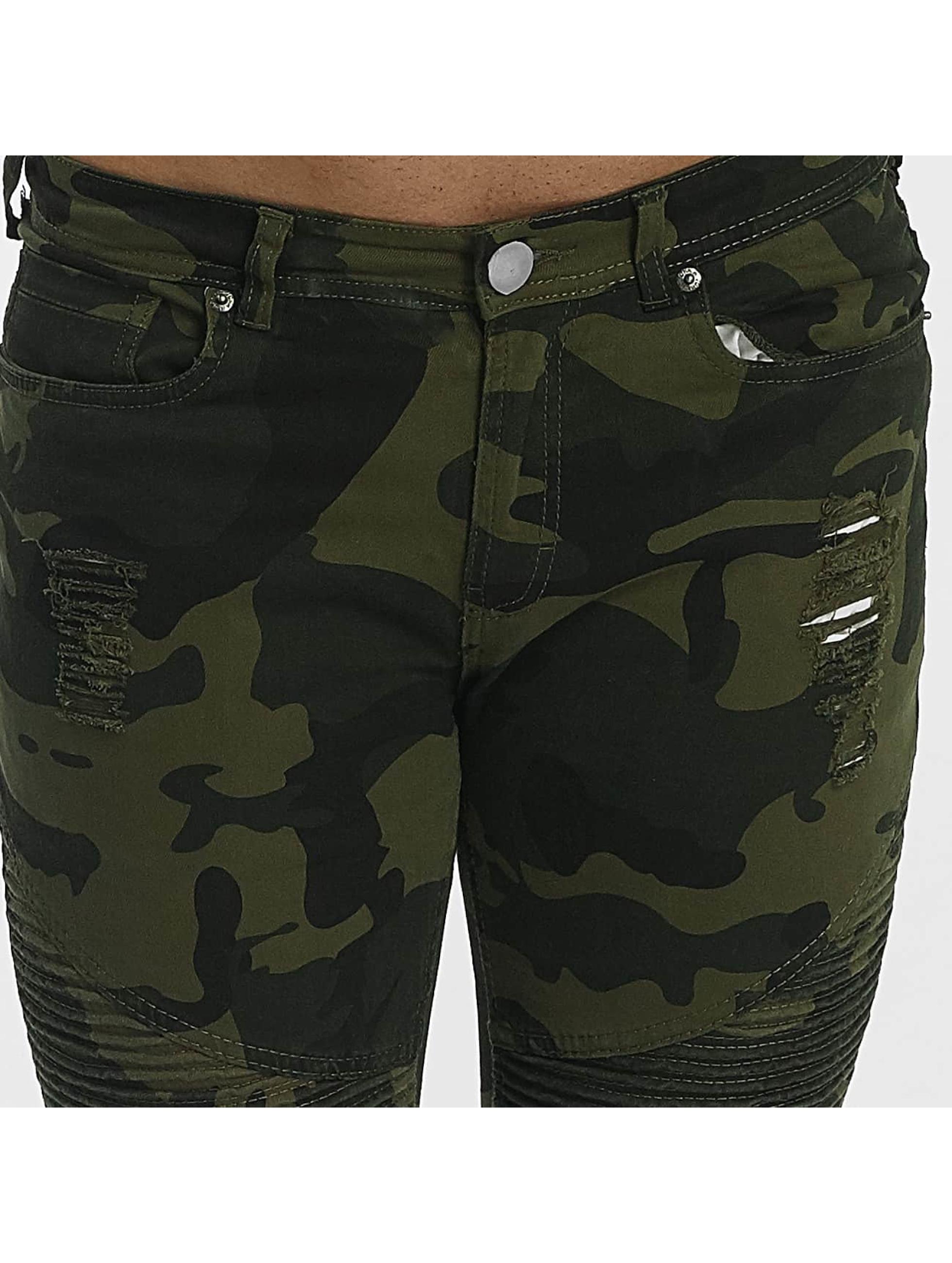 John H Jean slim Destroyed camouflage