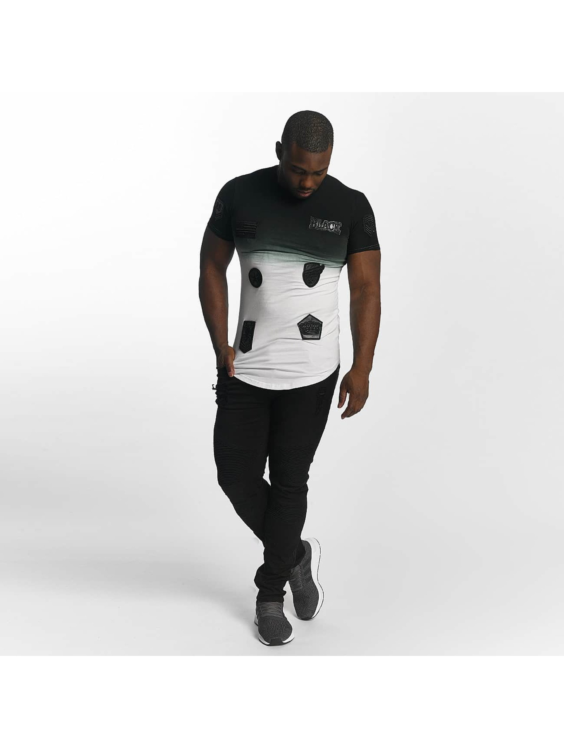 John H T-Shirt Patches blanc