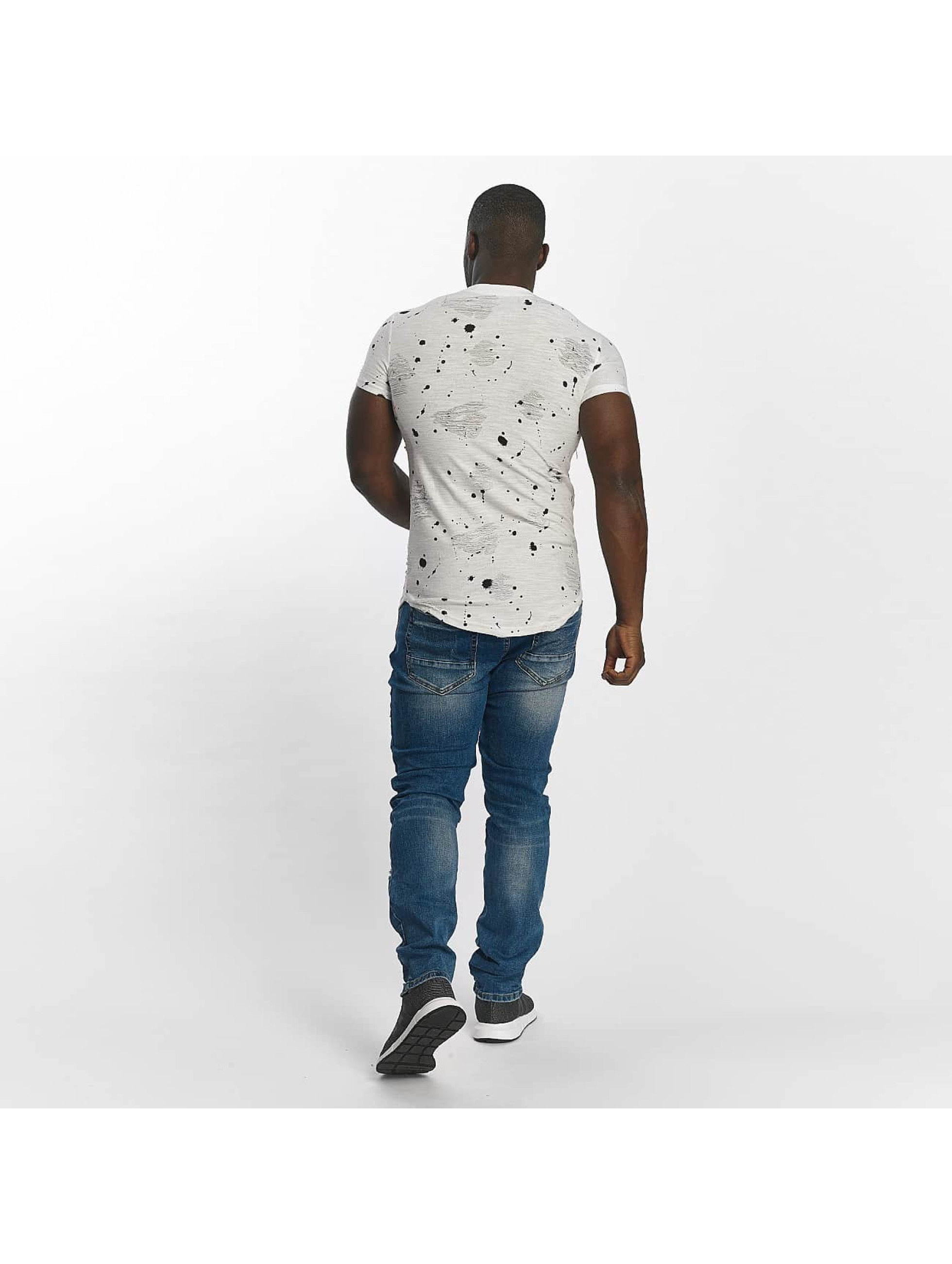 John H T-Shirt Komet blanc