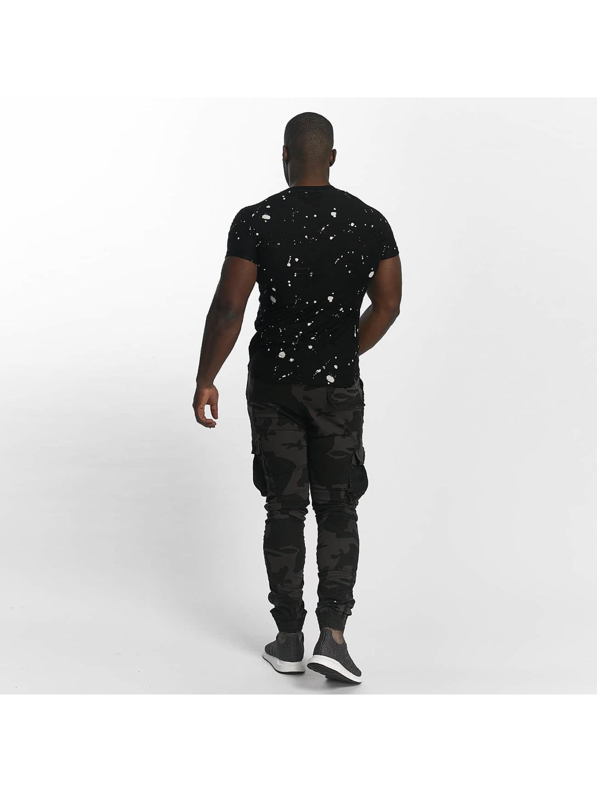 John H T-Shirt Komet noir