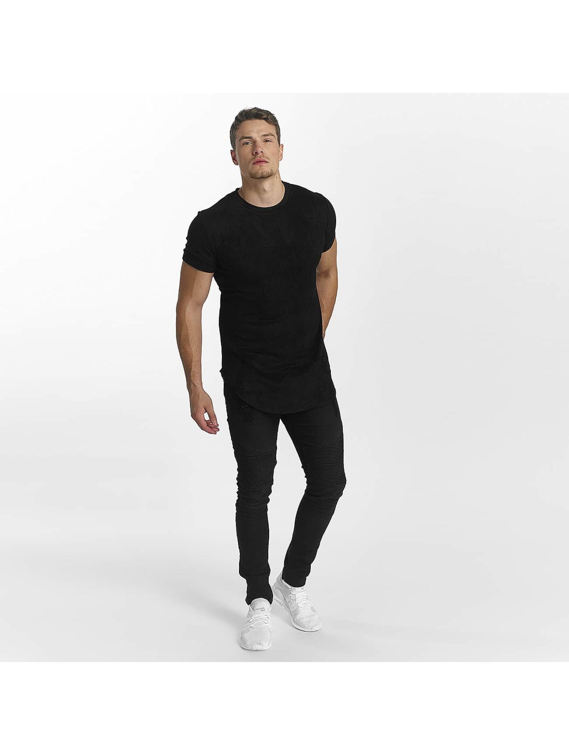 John H T-Shirt Wave noir