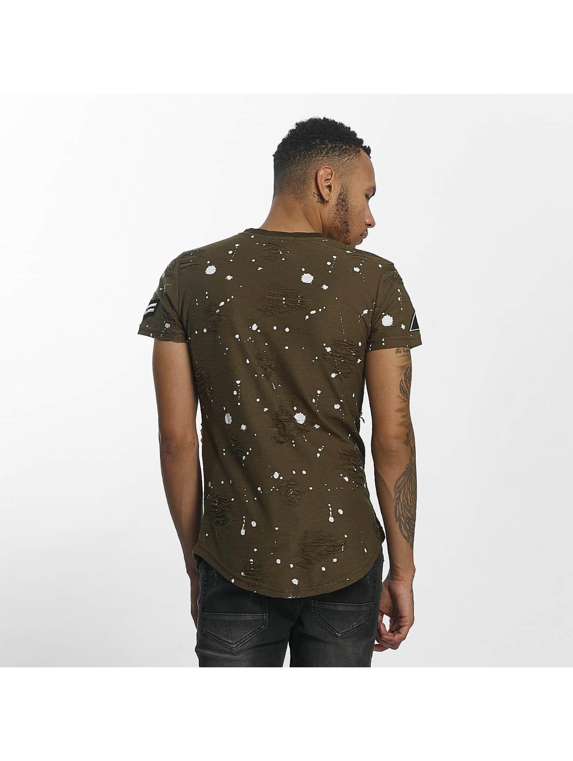 John H T-Shirt Skull vert