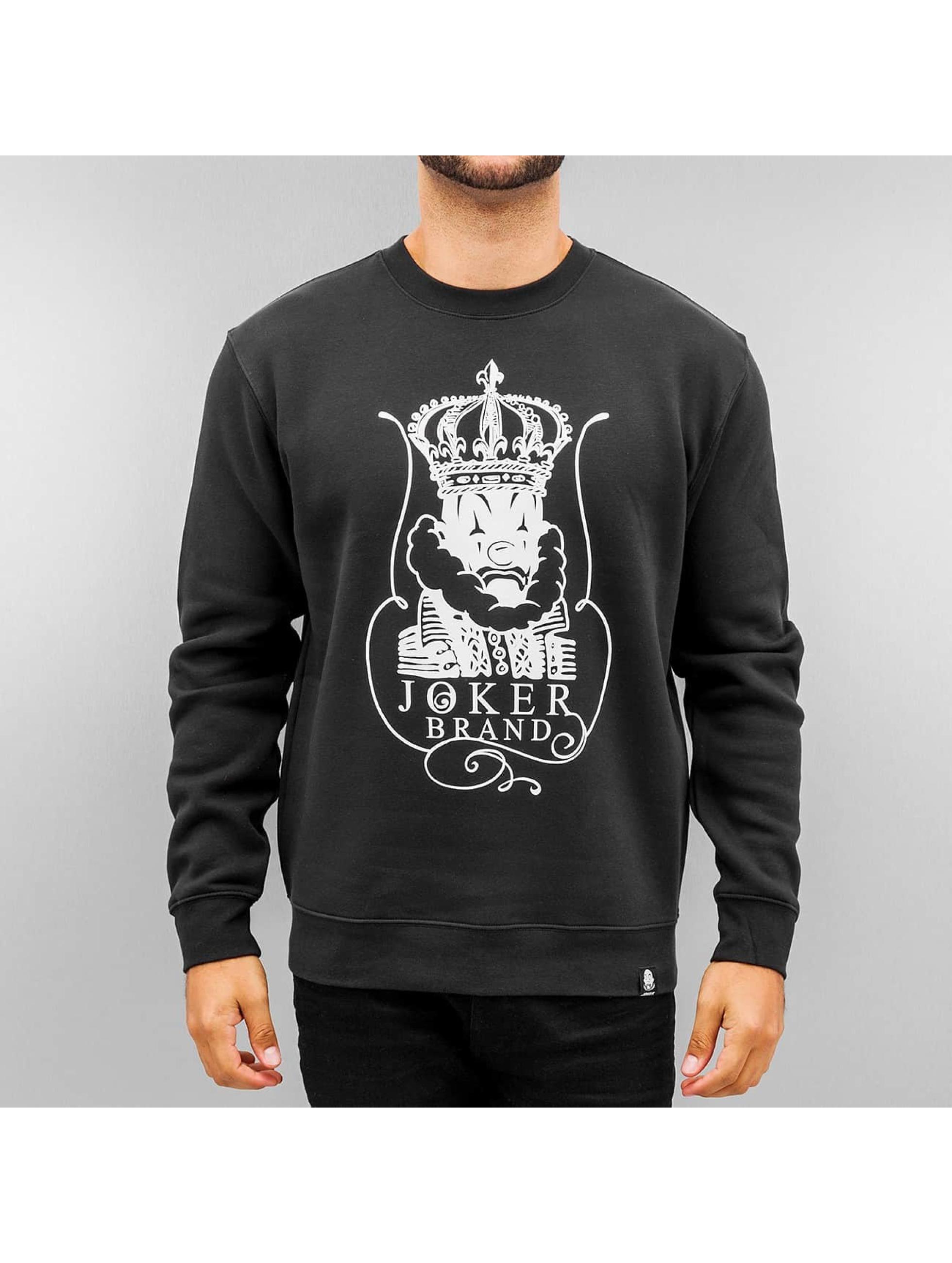 Joker Пуловер King черный