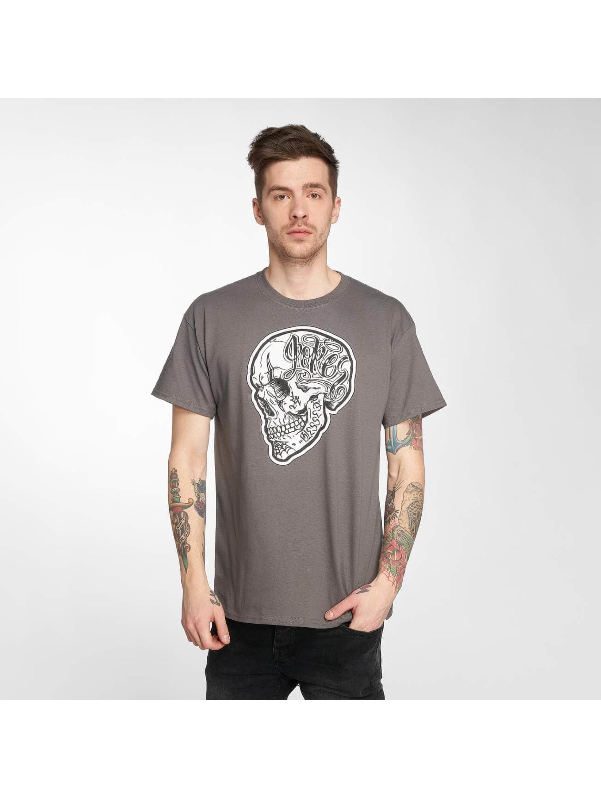 Joker Camiseta Skull gris