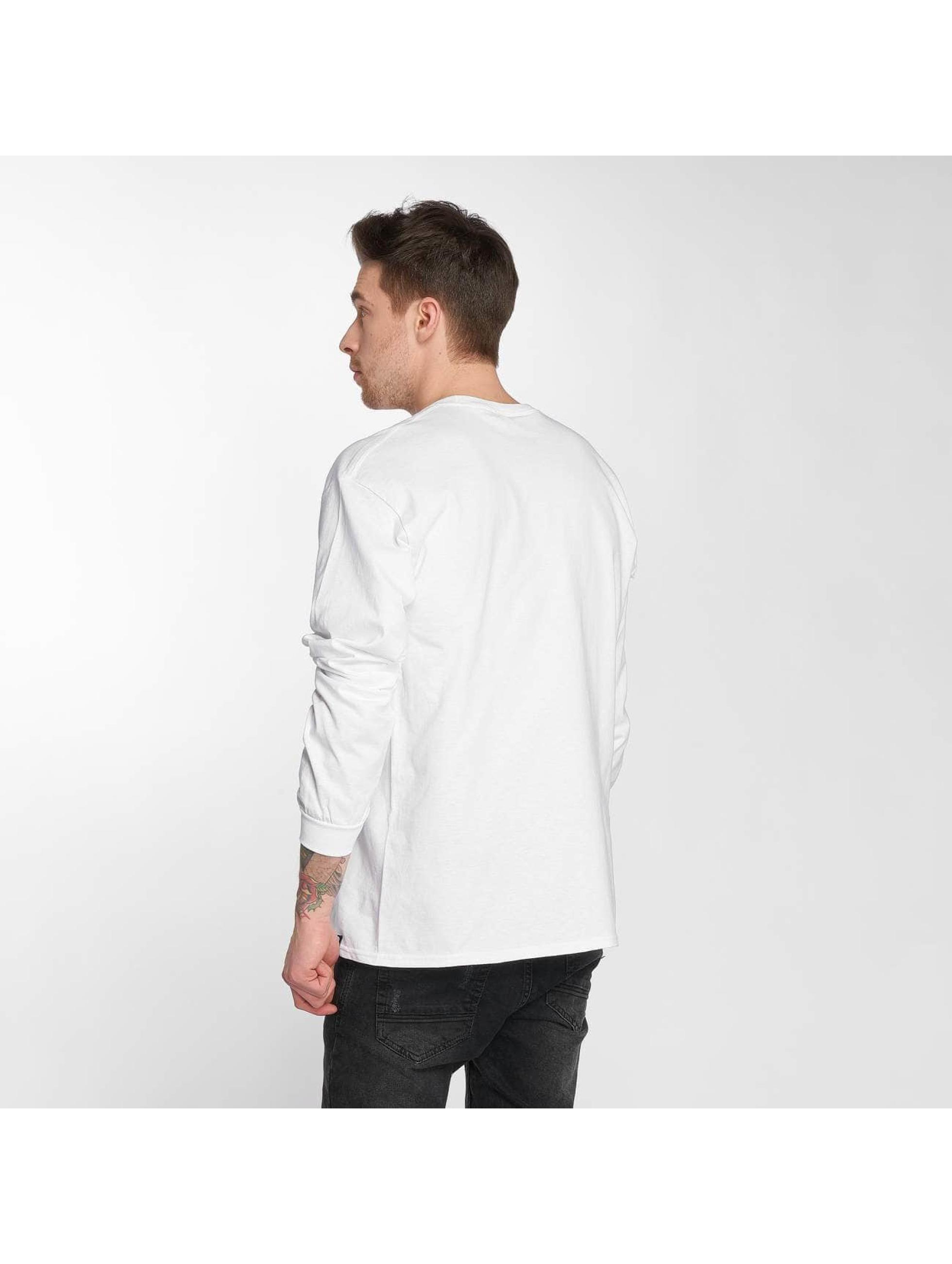 Joker Pitkähihaiset paidat Clown Brand valkoinen