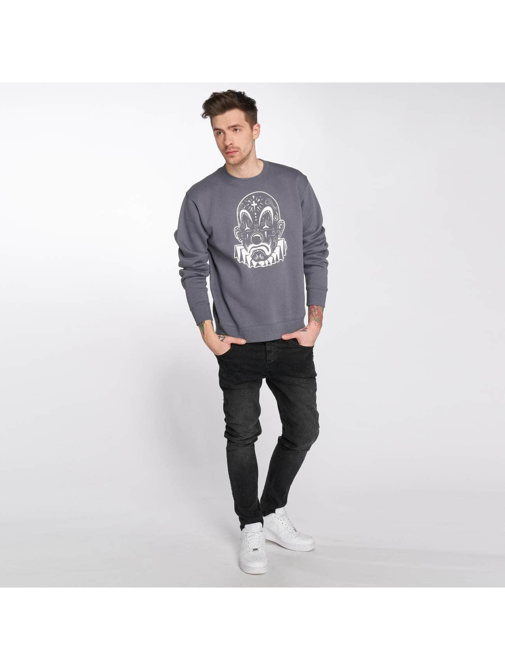 Joker Pullover Mexico Clown gray