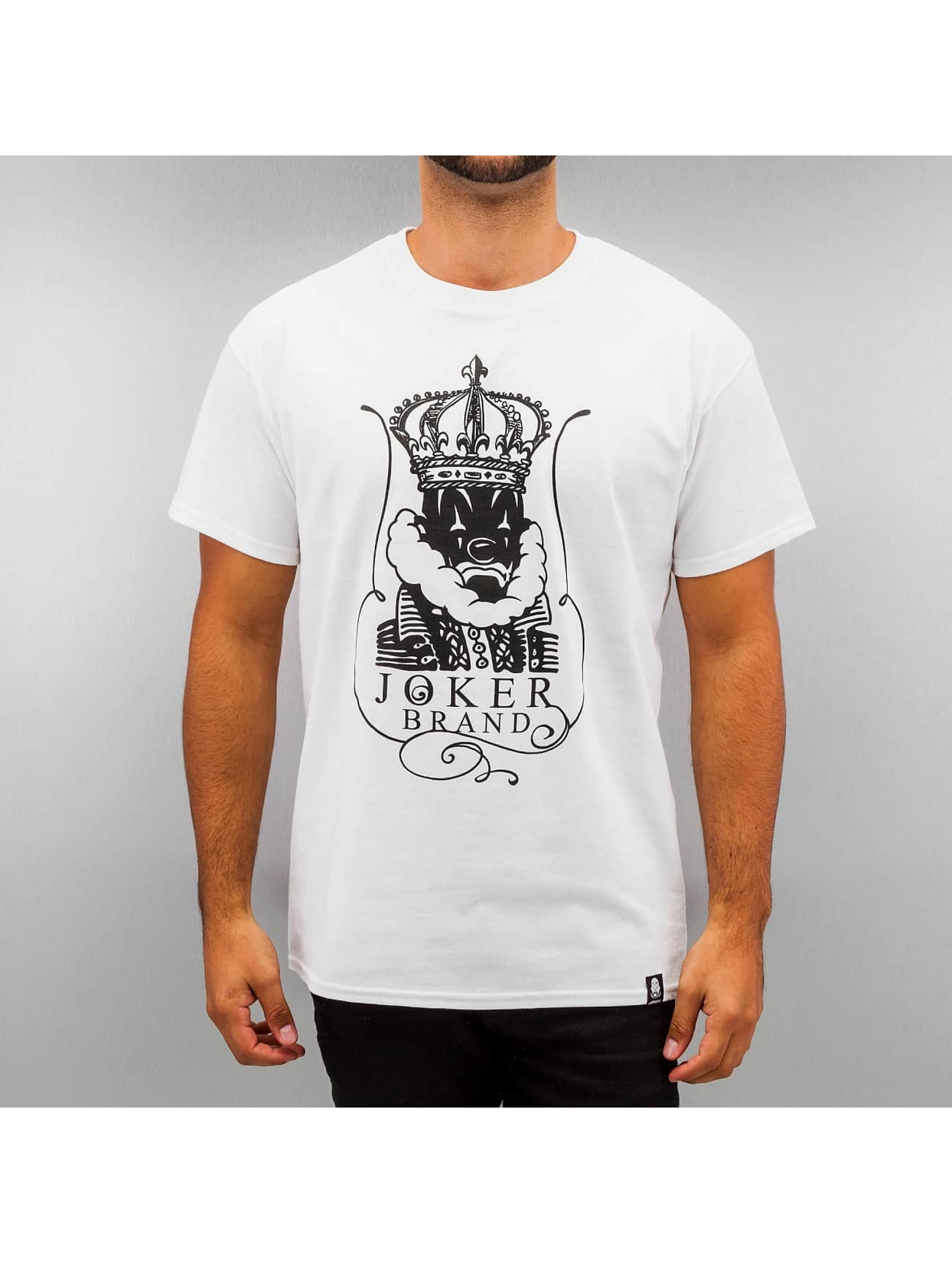 Joker T-Shirt King blanc