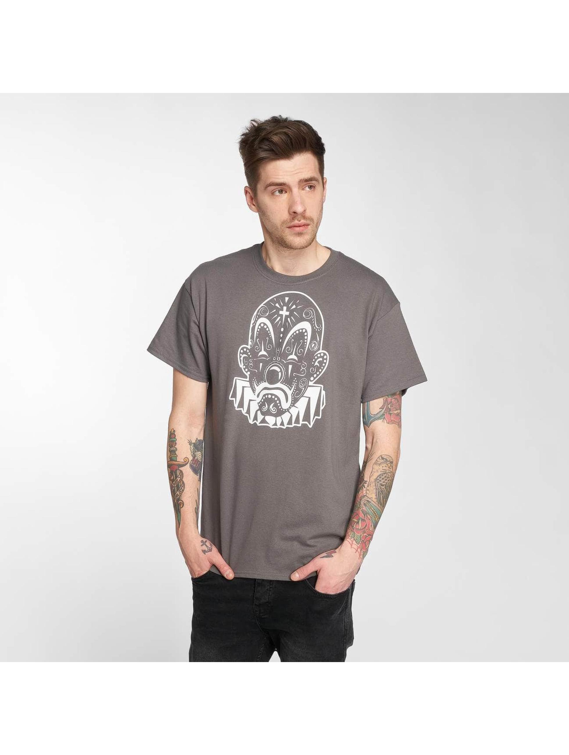 Joker T-Shirt Mexico Clown grey