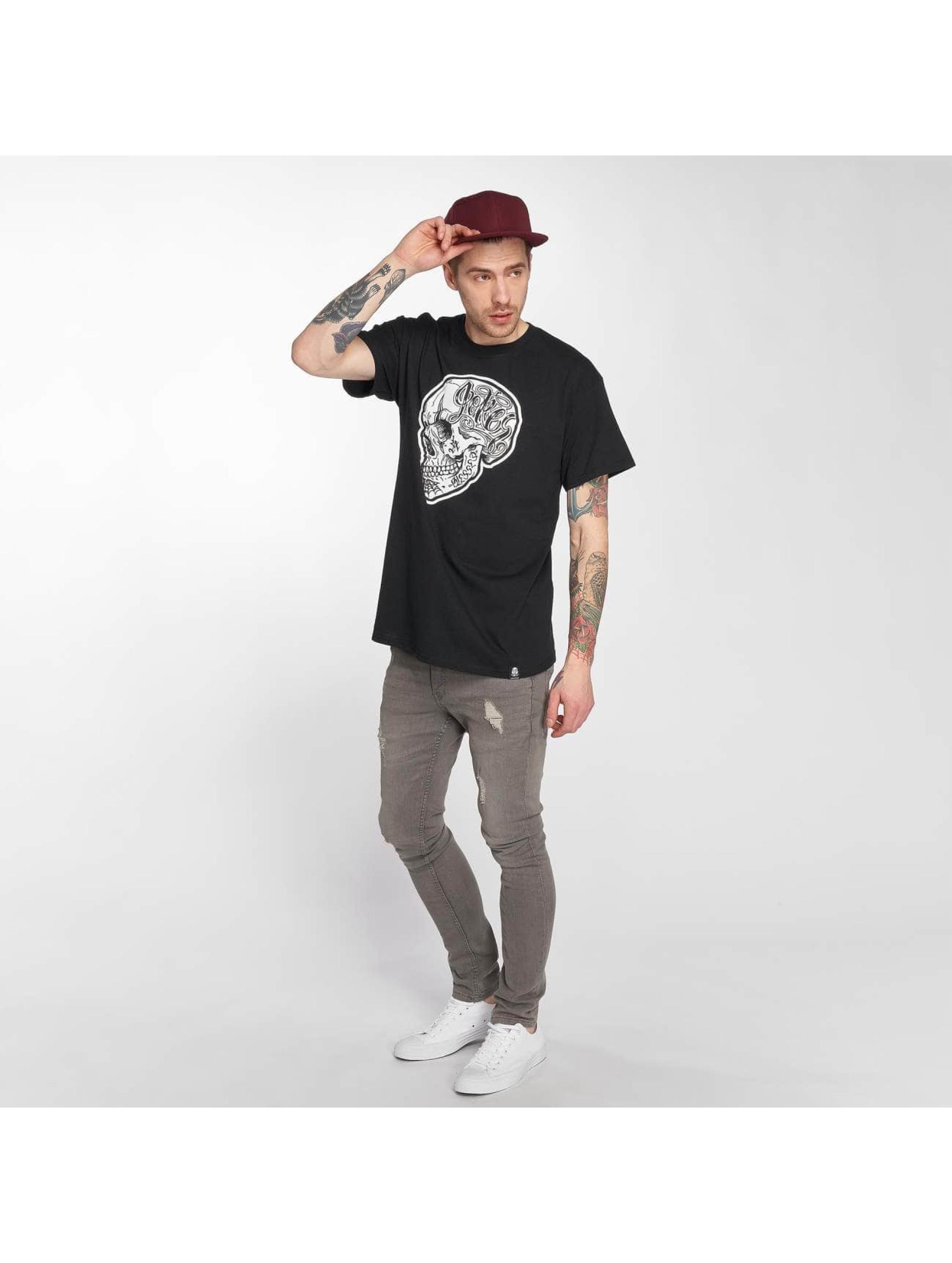 Joker T-shirt Skull nero