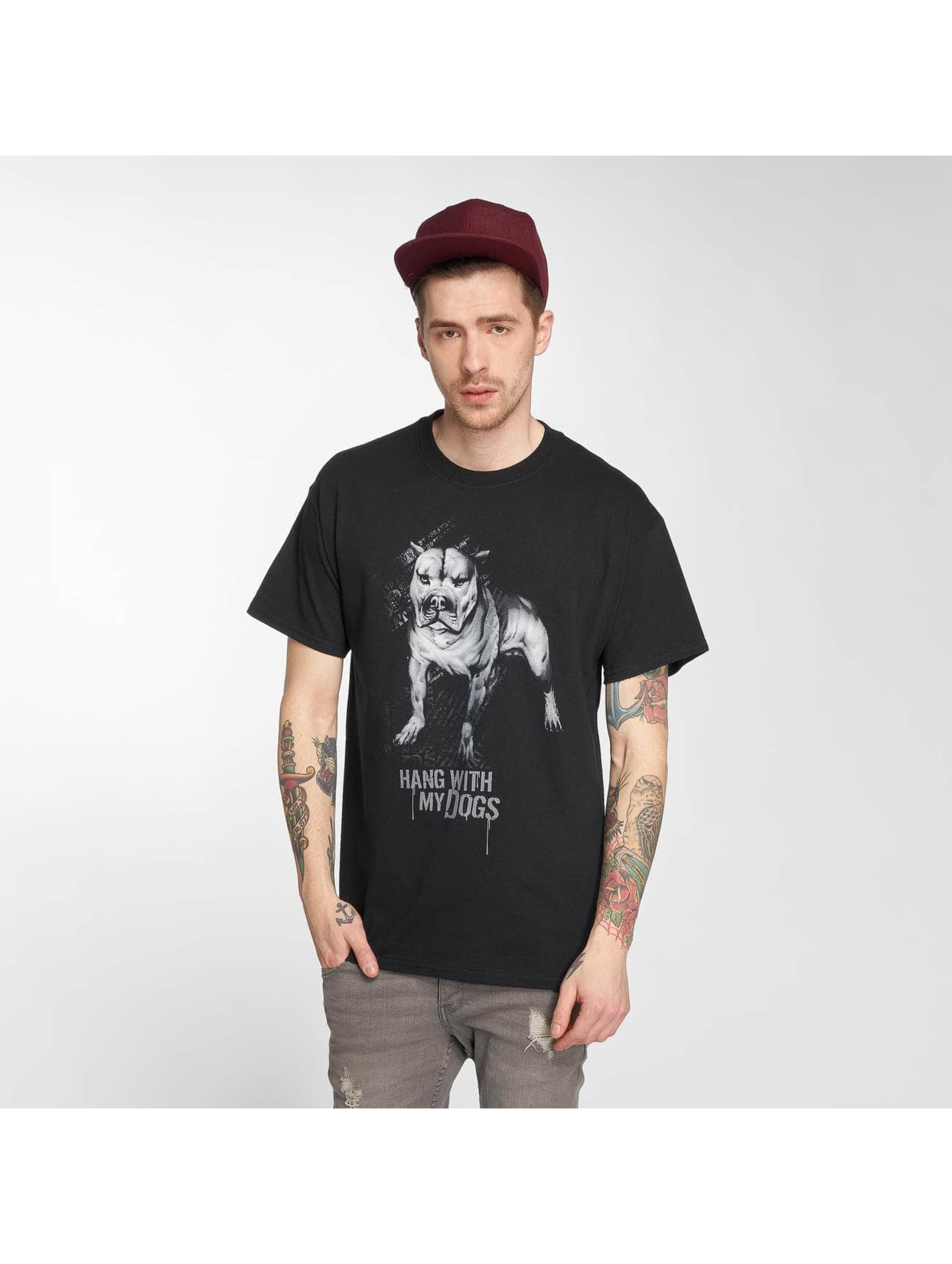 Joker T-Shirt Dogs noir