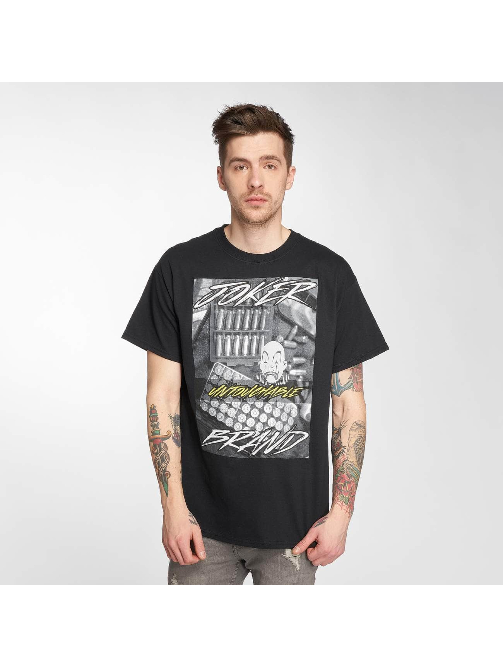 Joker T-Shirt Bullet noir