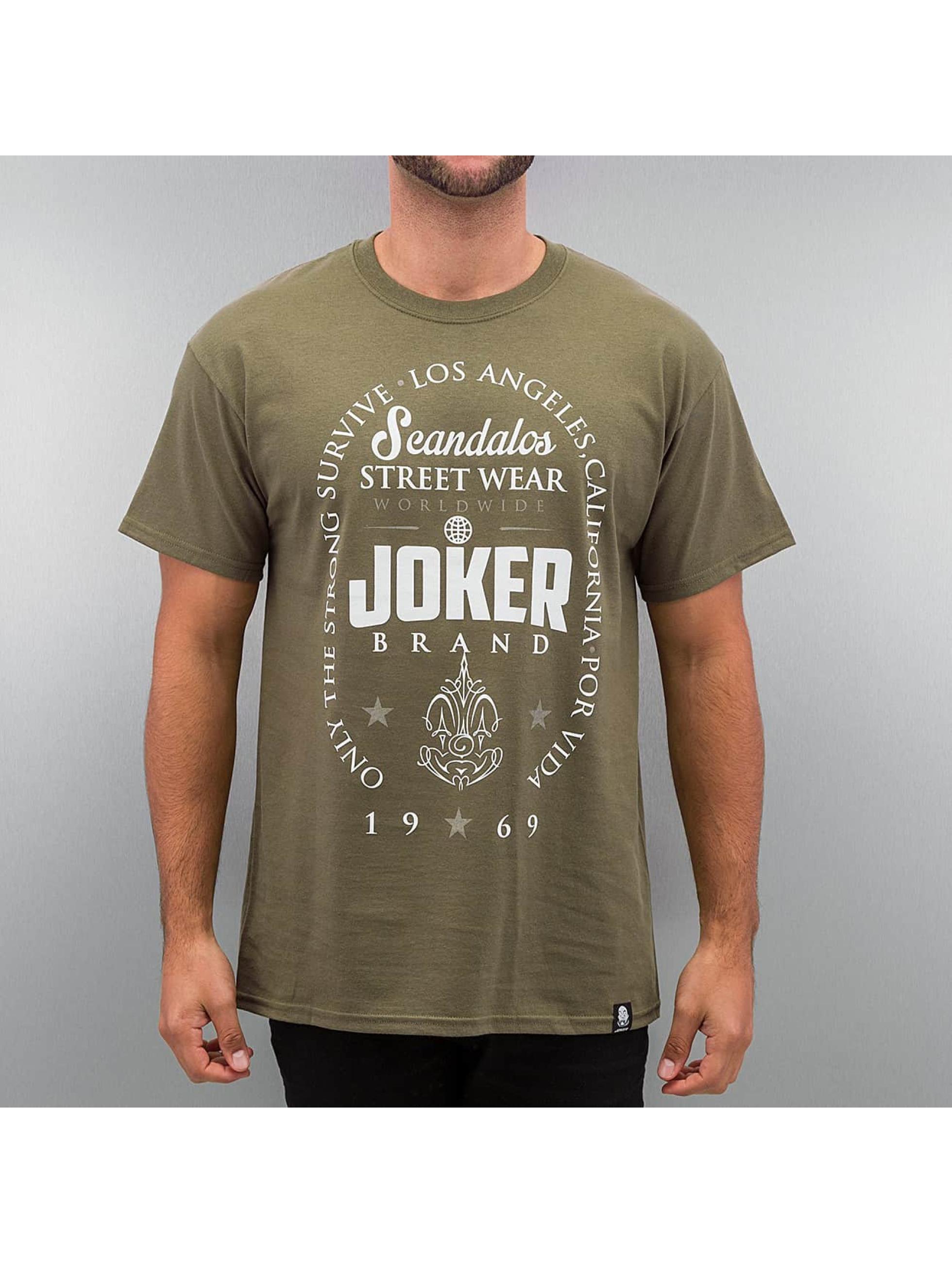Joker T-Shirt Scandalos olive