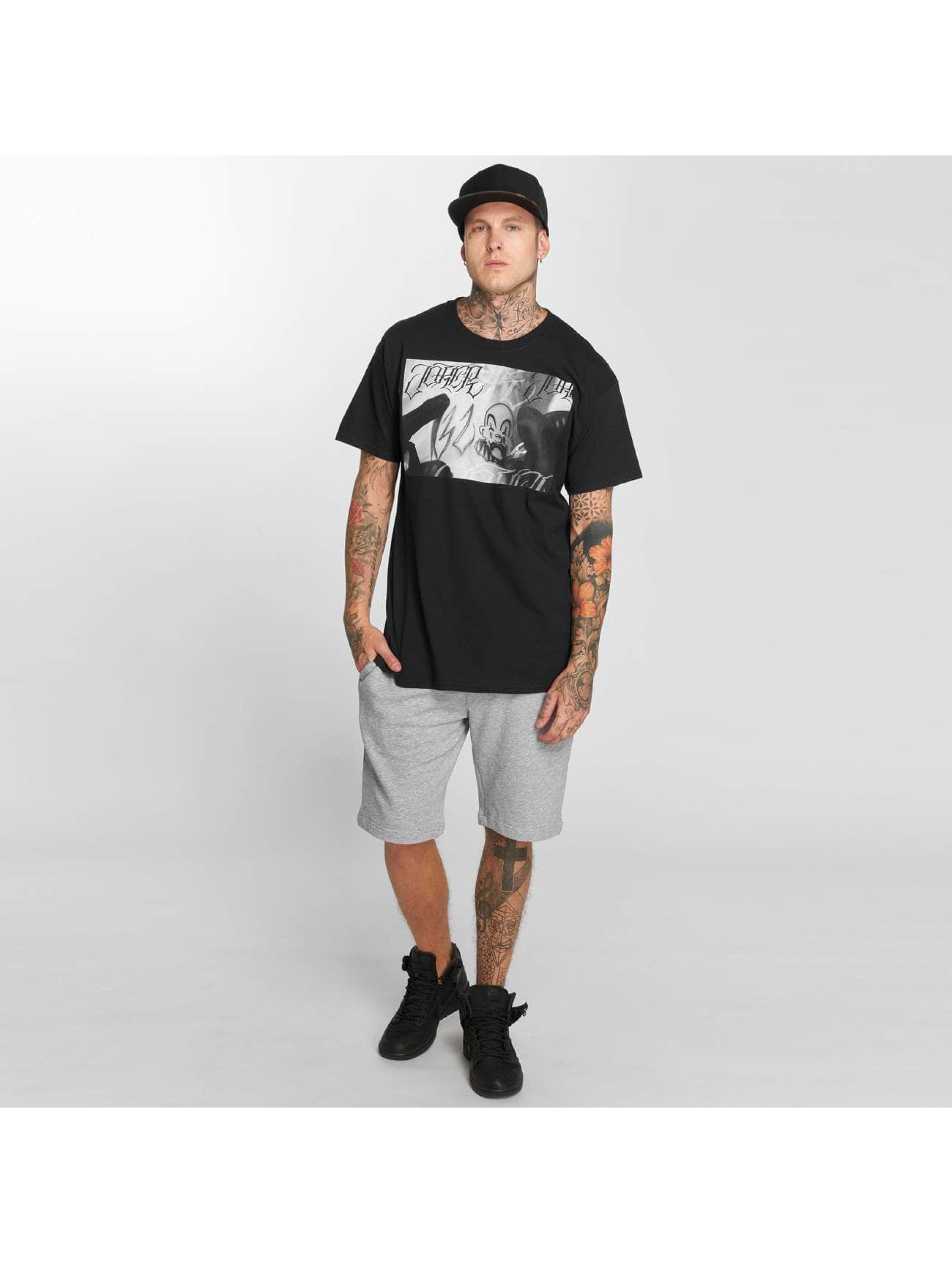 Joker T-Shirt Tattoo schwarz
