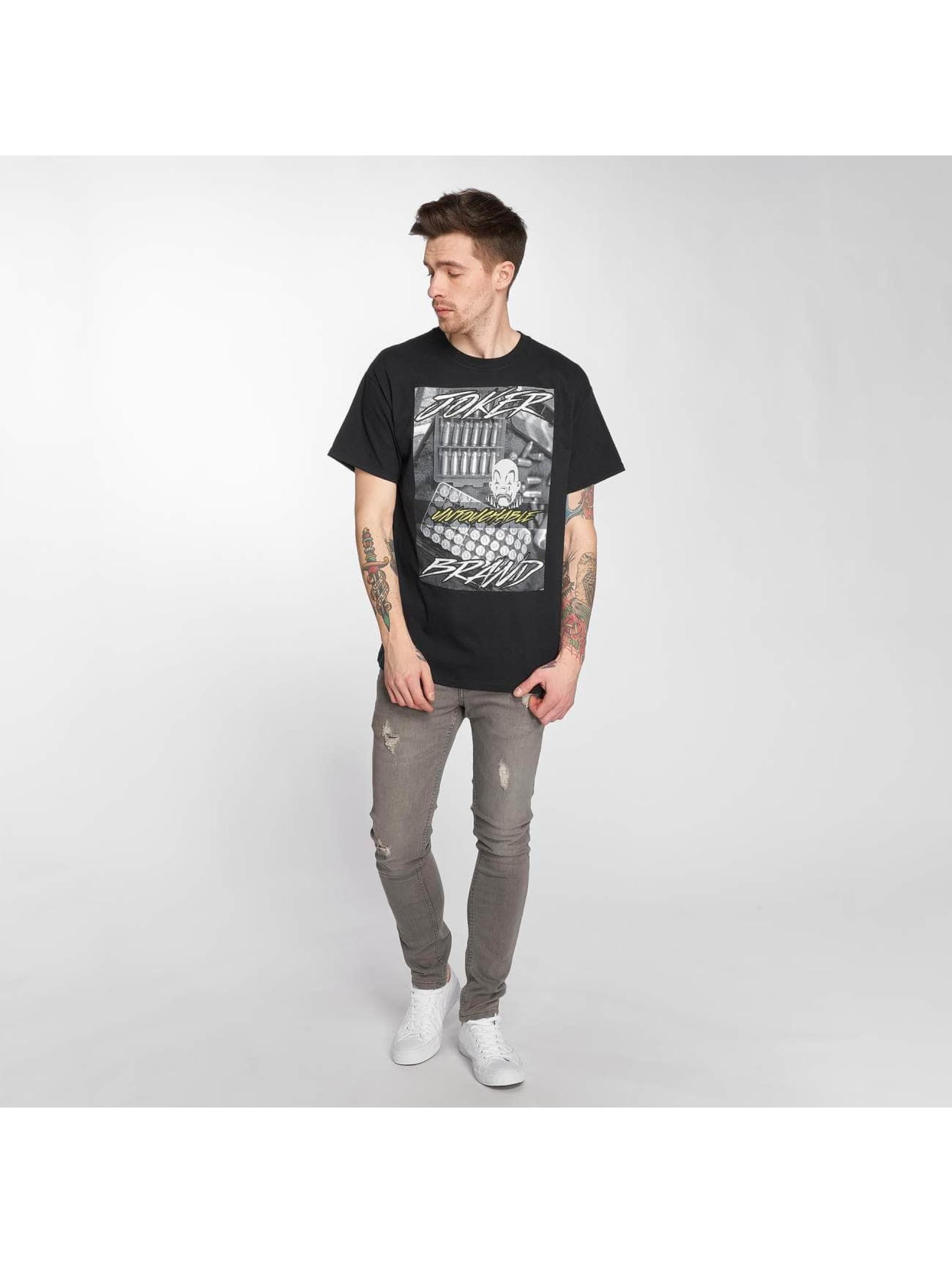 Joker T-shirt Bullet svart