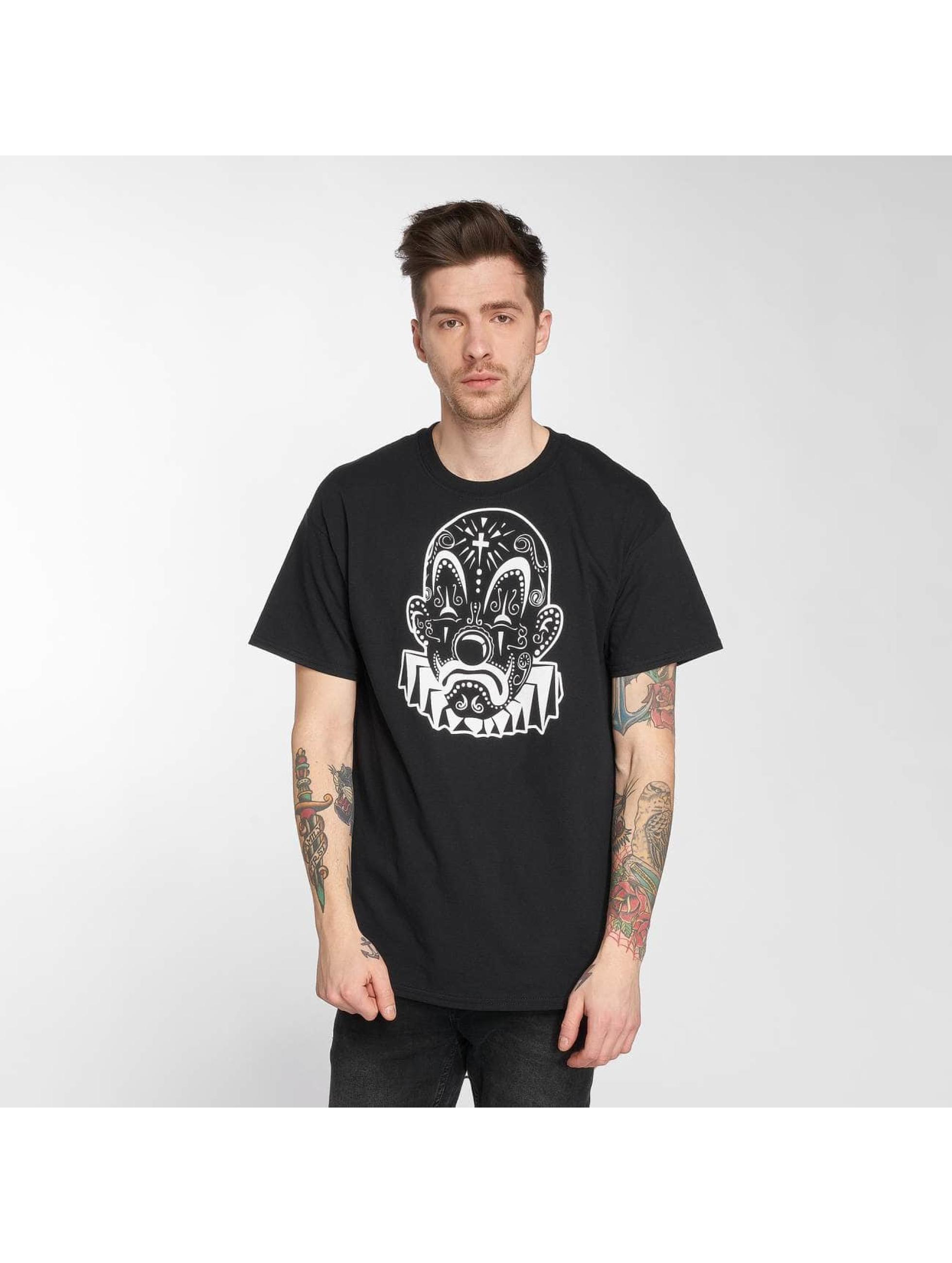 Joker T-shirt Mexico Clown svart