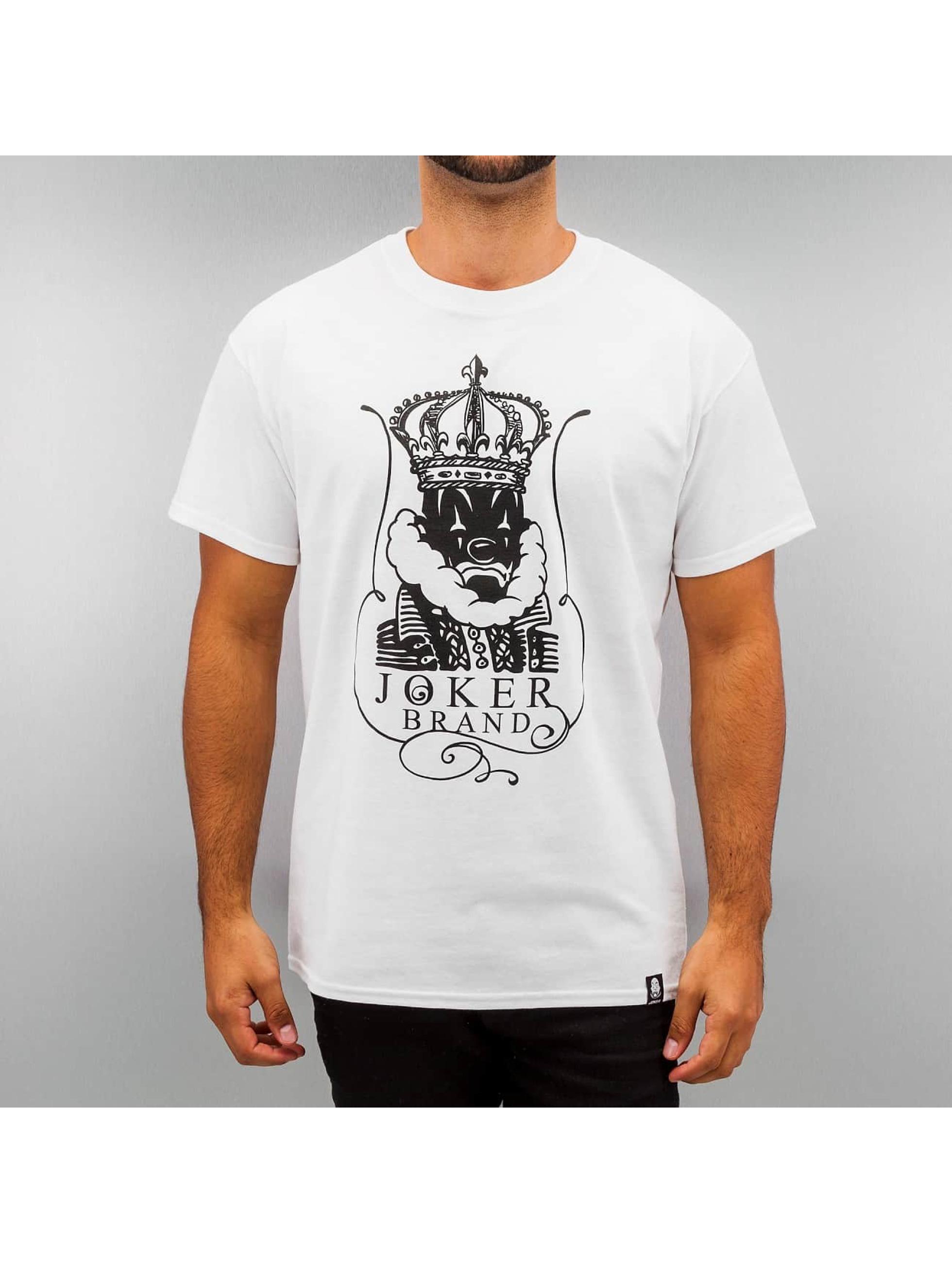 Joker T-Shirt King weiß