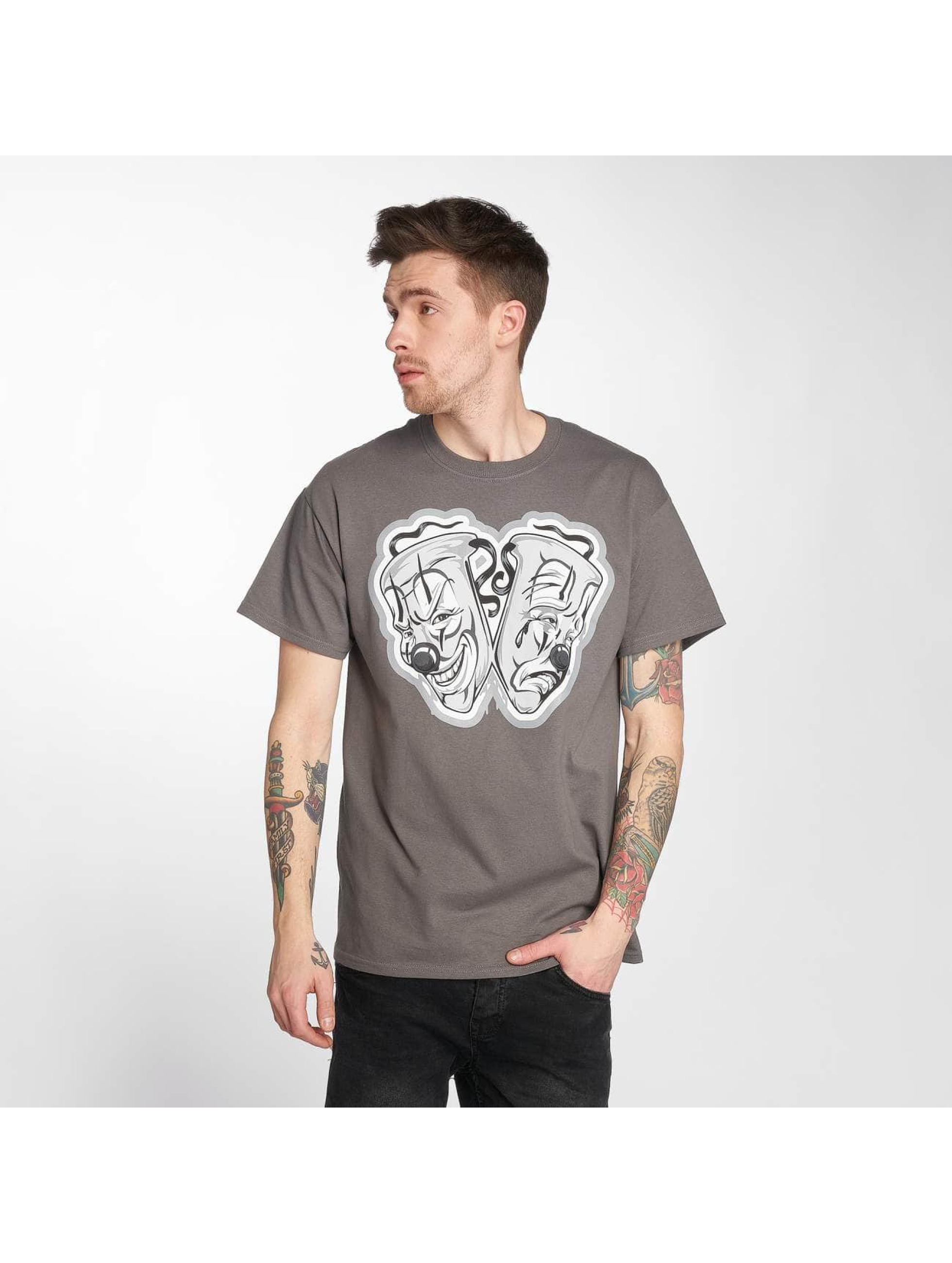 Joker T-skjorter Drama grå