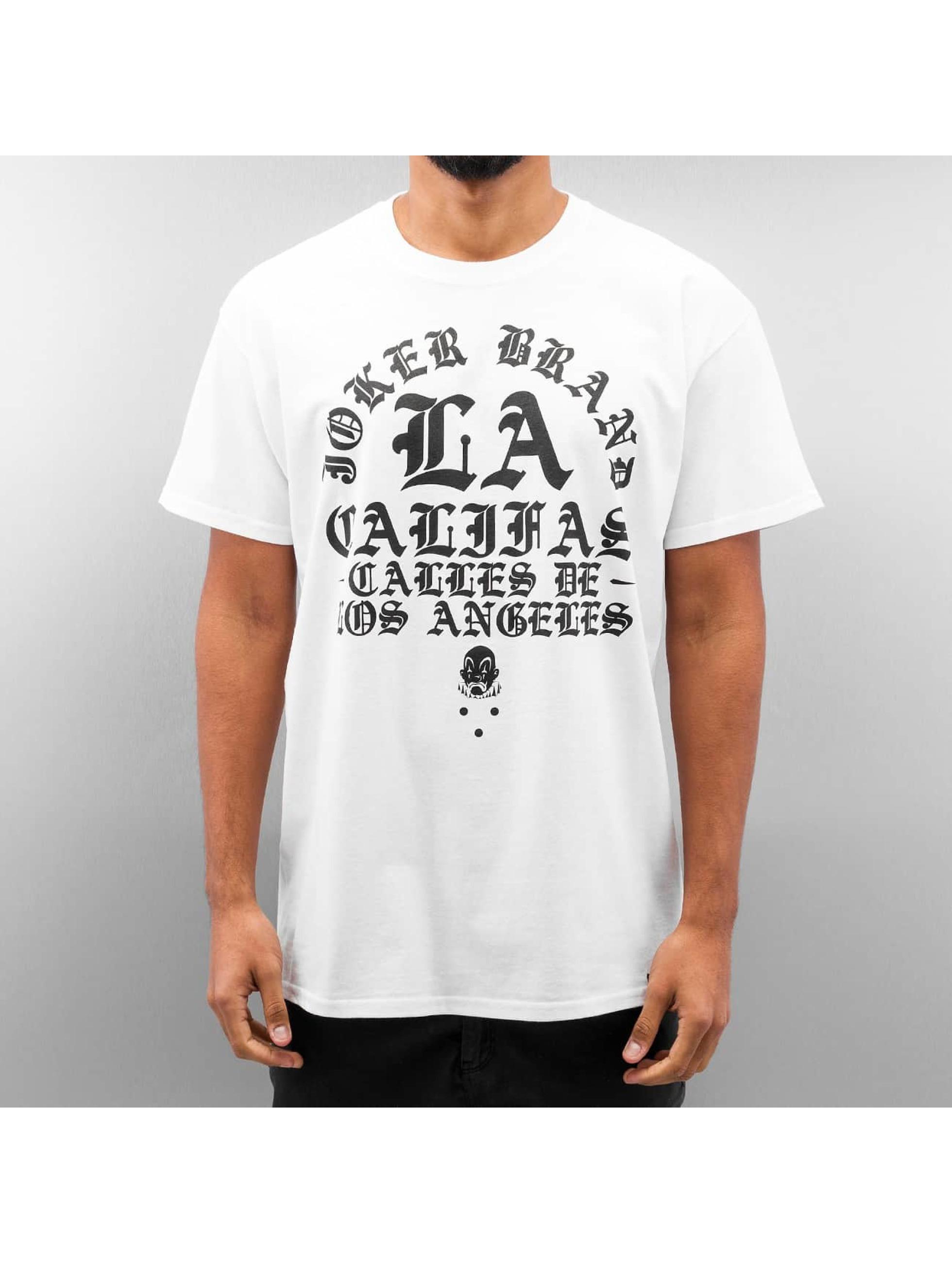 Joker T-skjorter Calles hvit