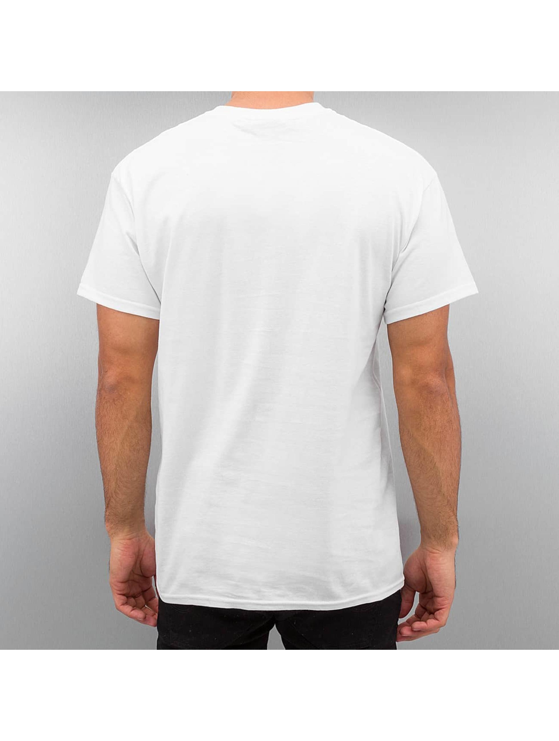 Joker T-skjorter Mask hvit