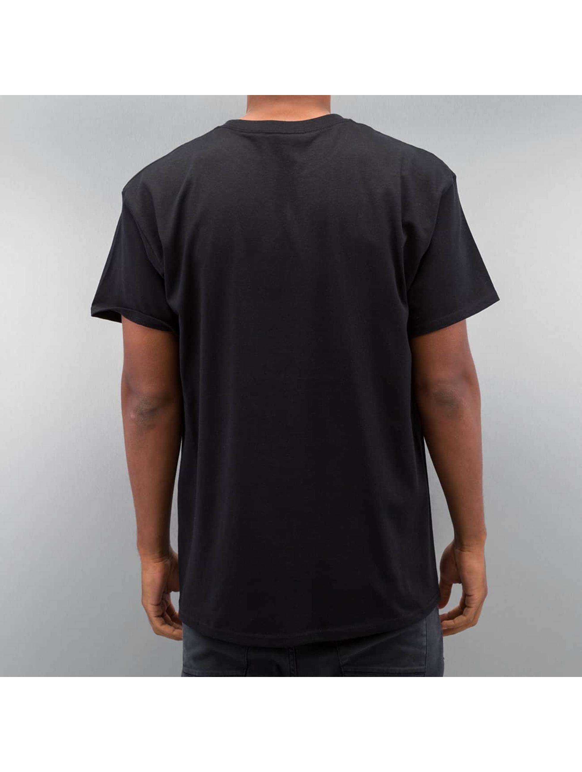 Joker T-skjorter Circle Clown svart