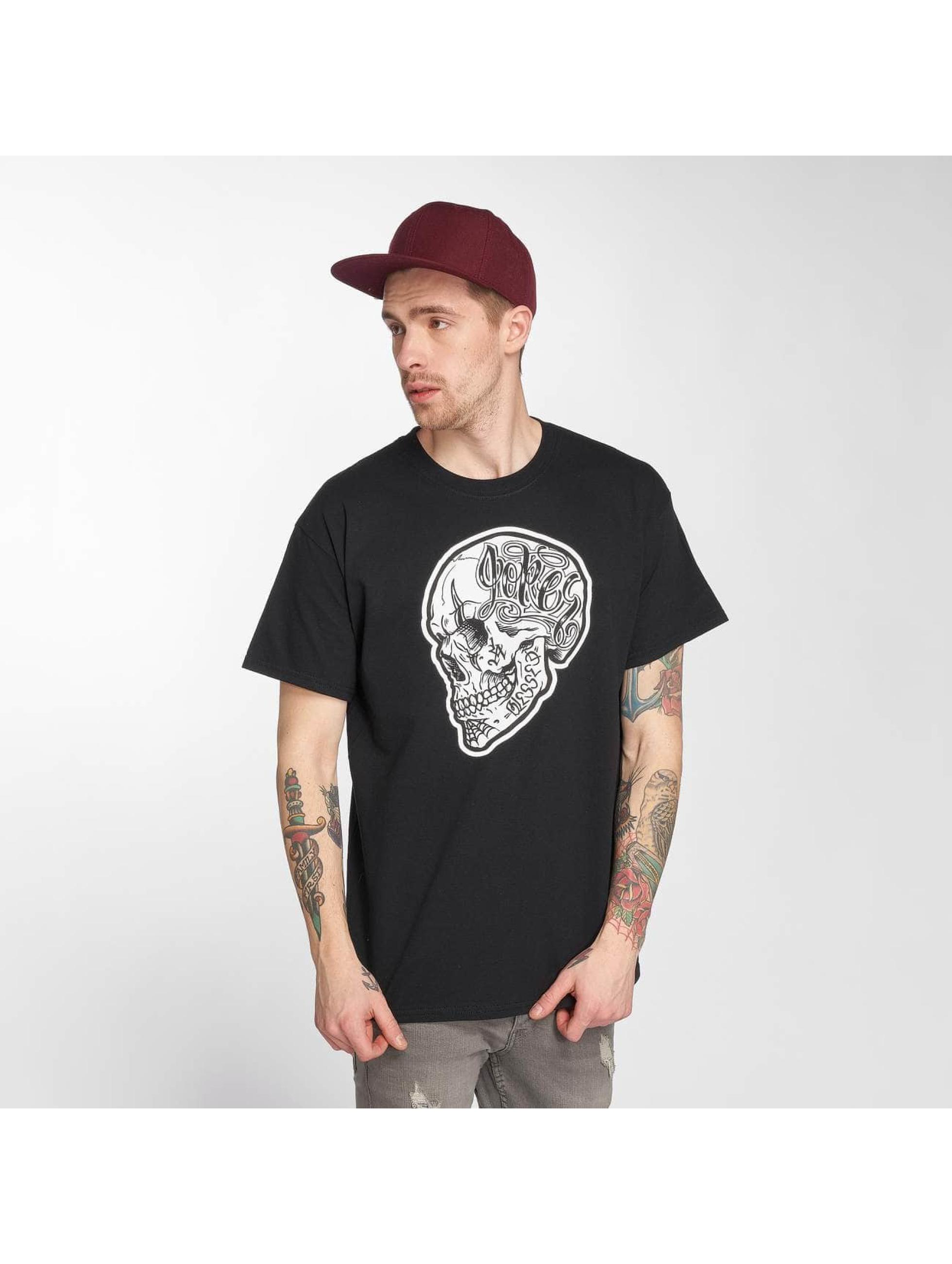 Joker T-skjorter Skull svart