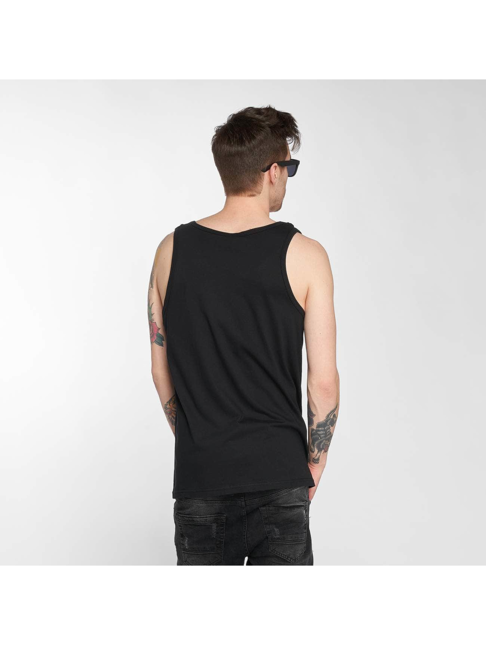 Joker Tank Tops Clown Brand black