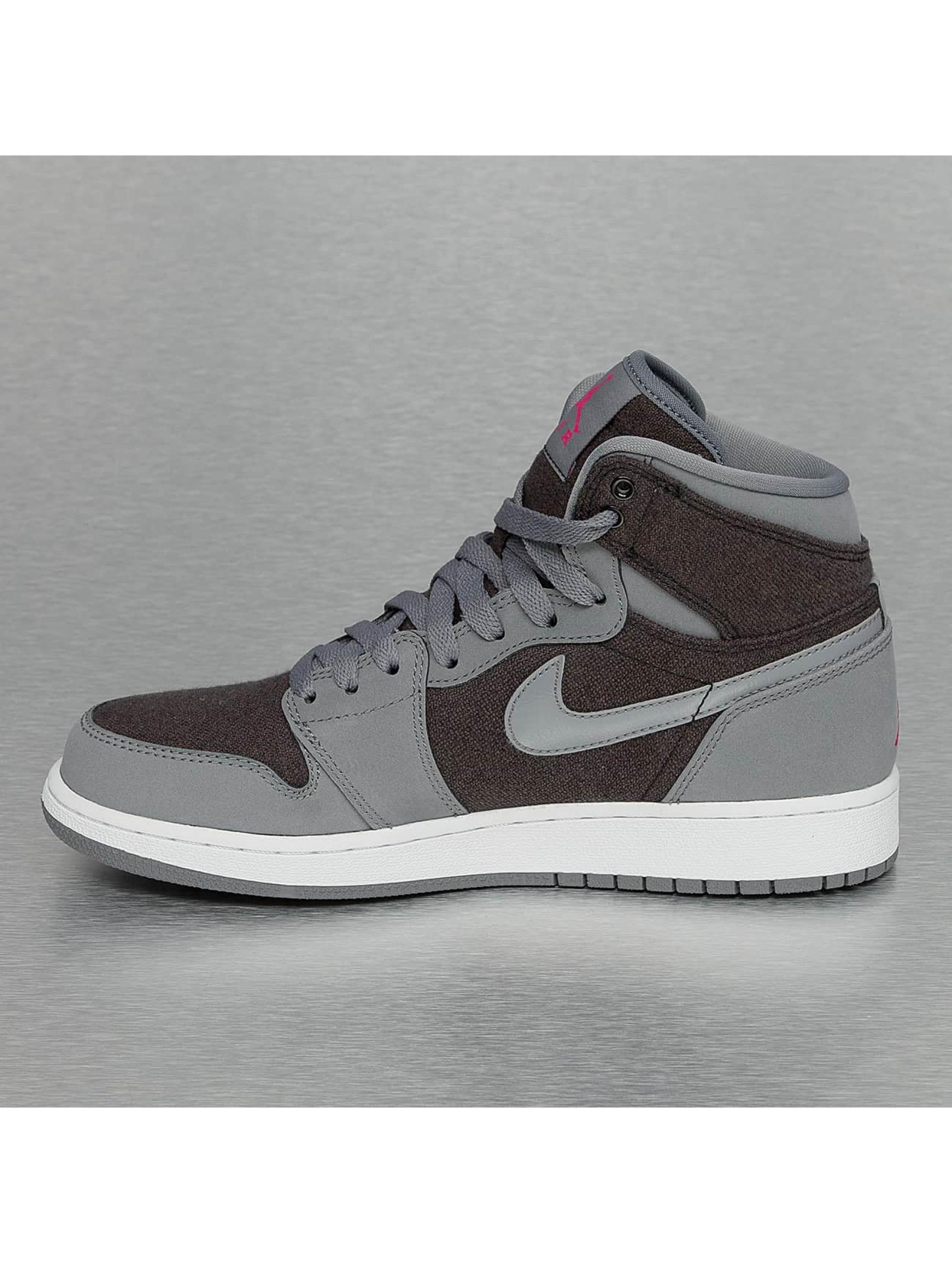 Jordan Baskets 1 Retro (GS) gris