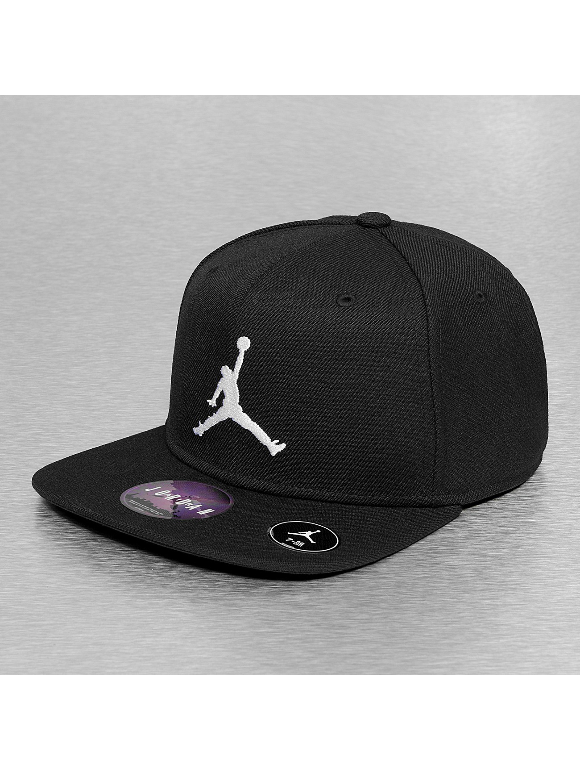 jordan jumpman noir casquette fitted jordan acheter pas cher casquette 172075. Black Bedroom Furniture Sets. Home Design Ideas