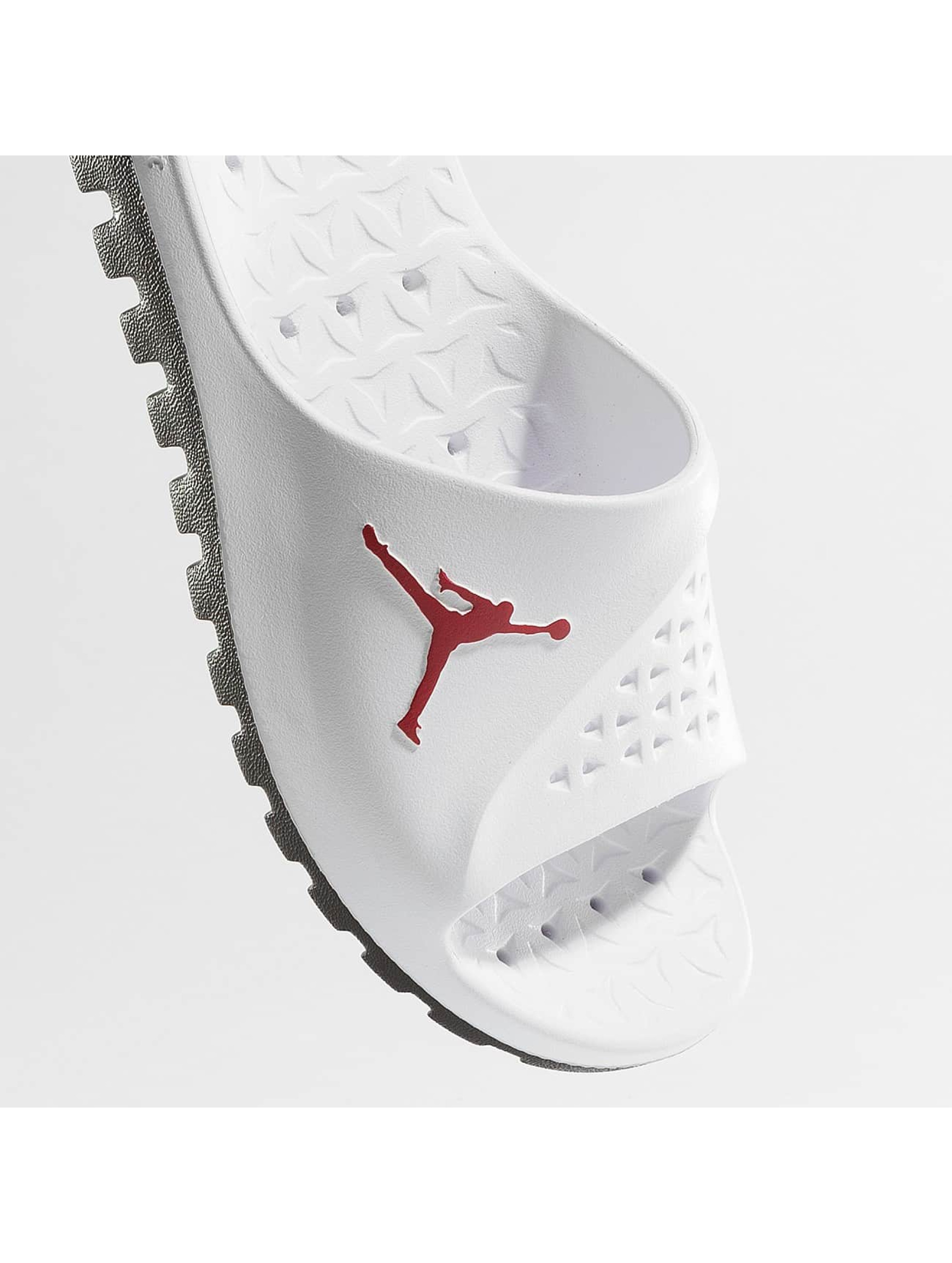Jordan Claquettes & Sandales Super.Fly Team blanc