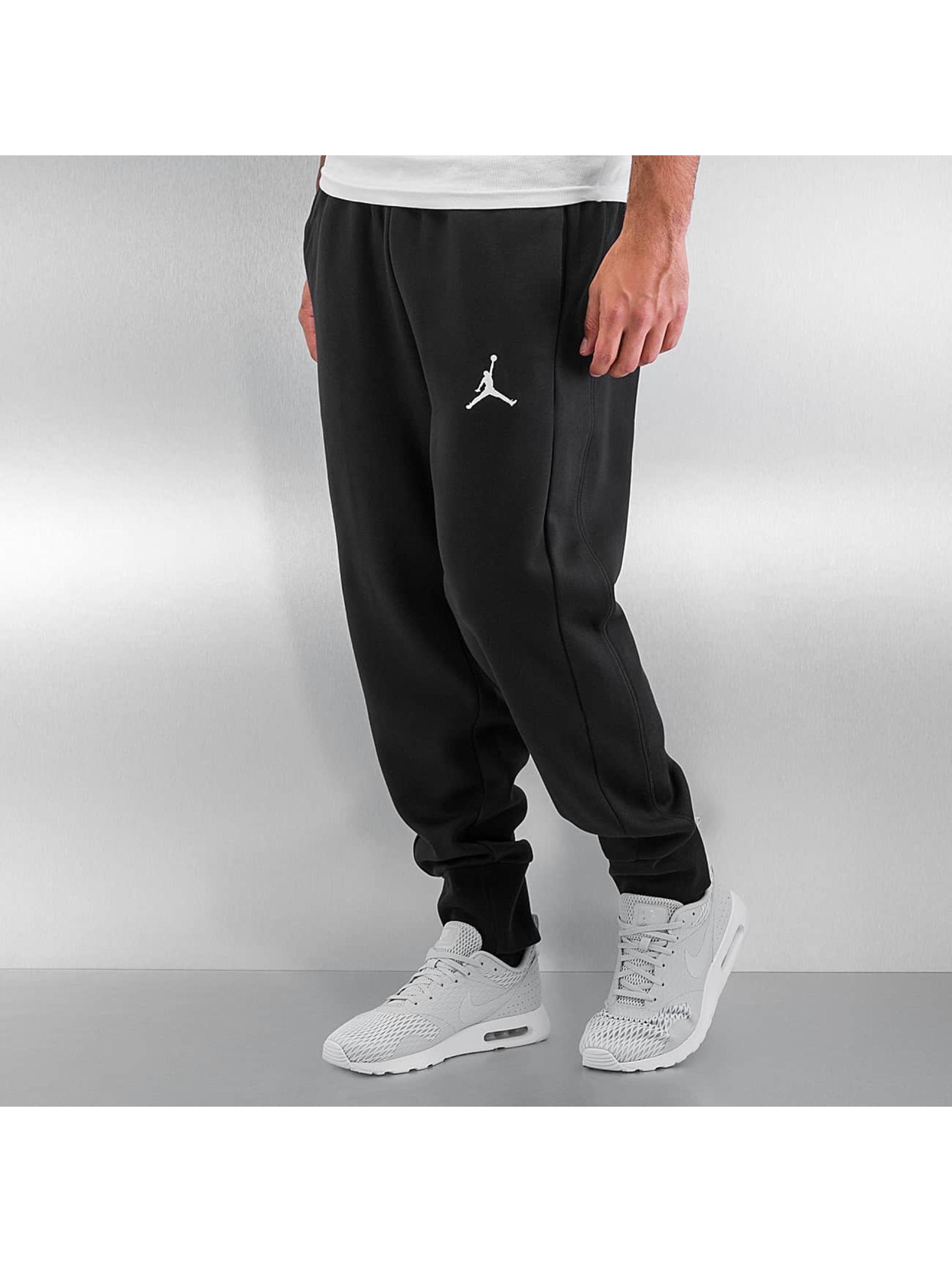 Jordan Pantalon / Jogging Flight en noir