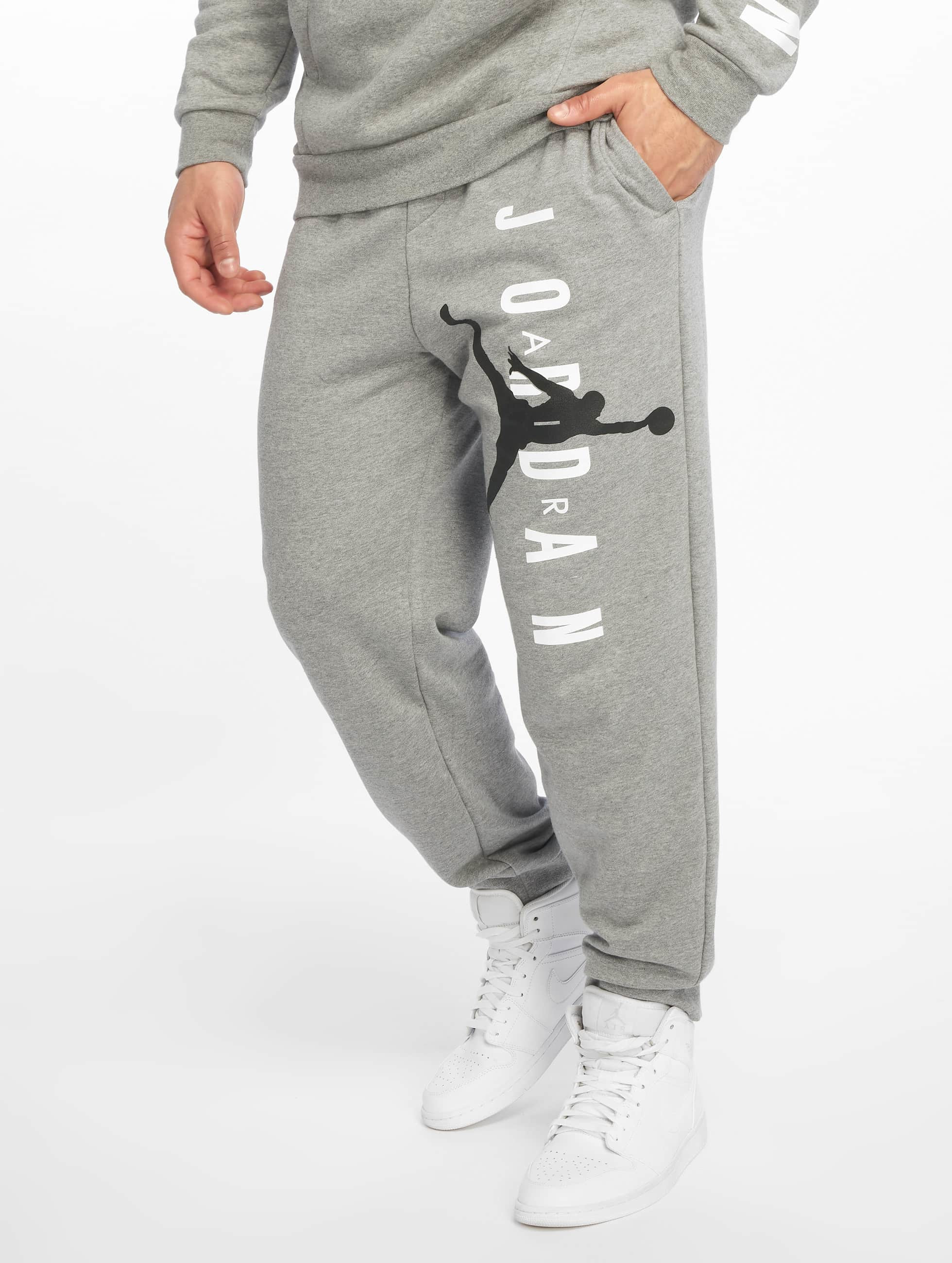 Jordan Jumpman Air LWT Fleece Pants Carbon HeatherBlack