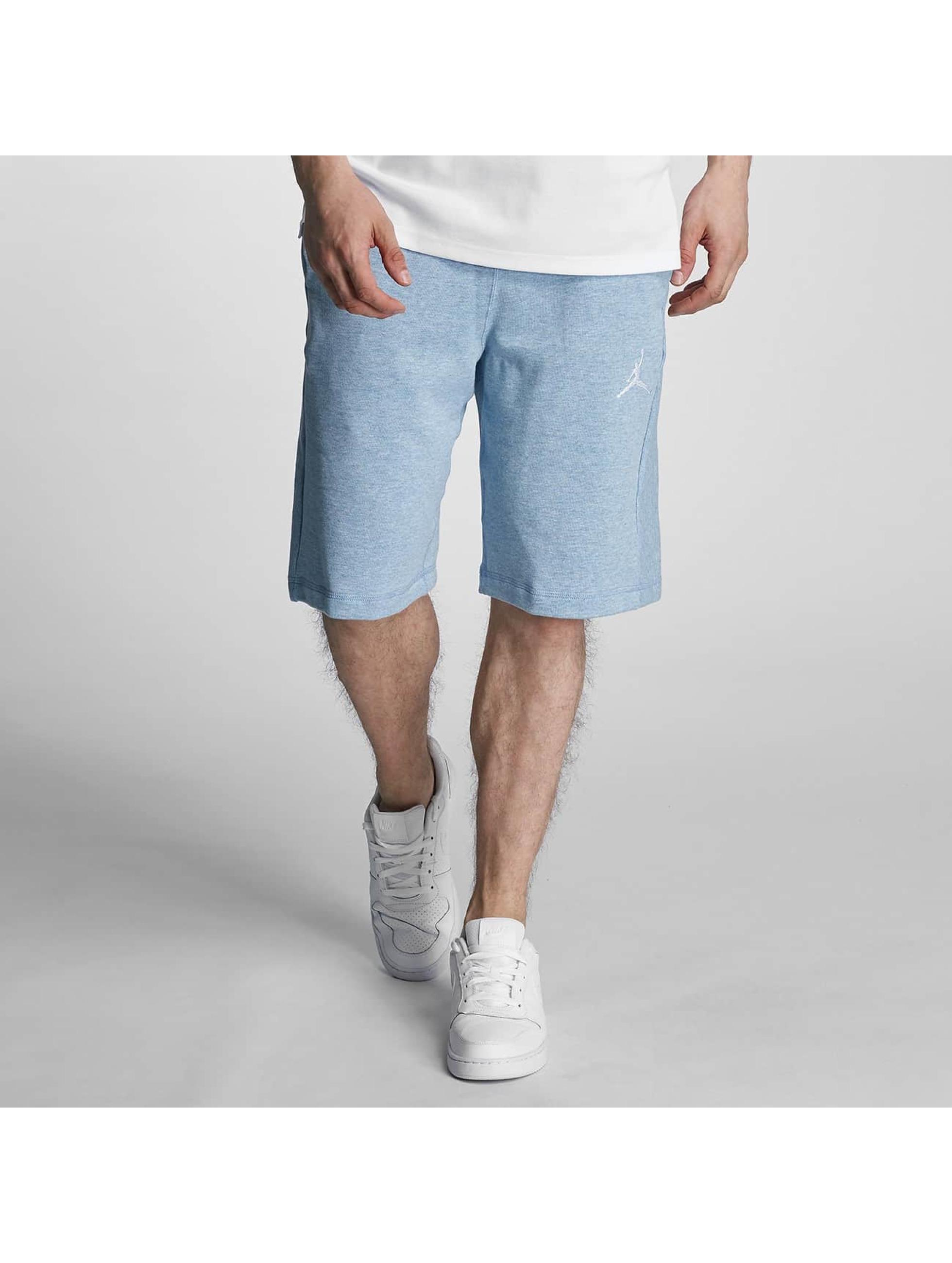 Jordan Pantalon / Shorts Flight en bleu