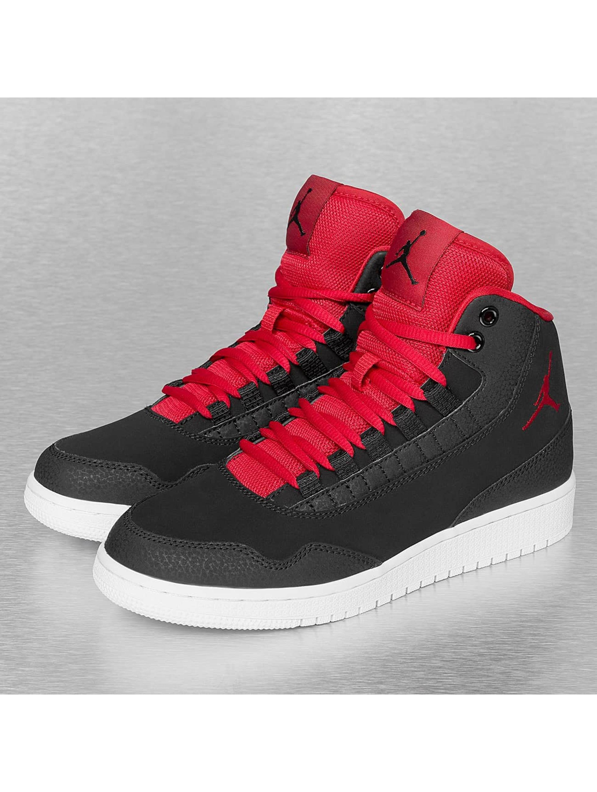 Jordan Schuhe Rot Schwarz