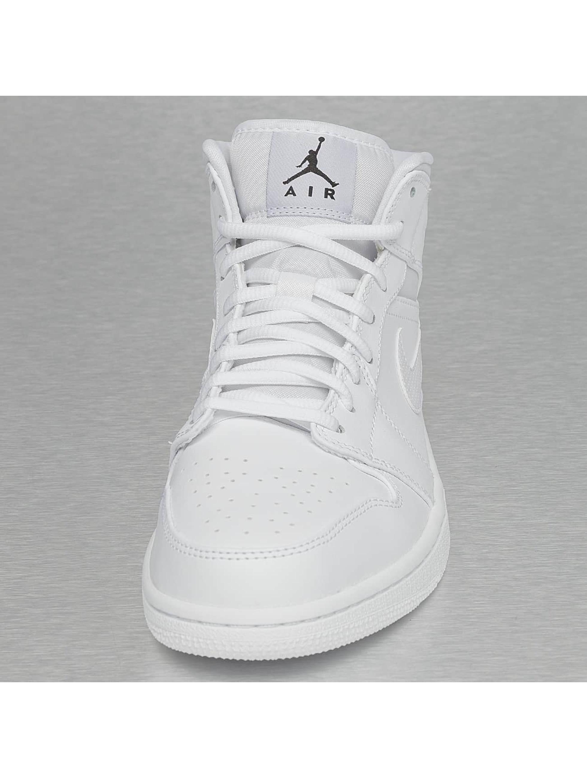 Jordan Sneakers 1 Mid bialy