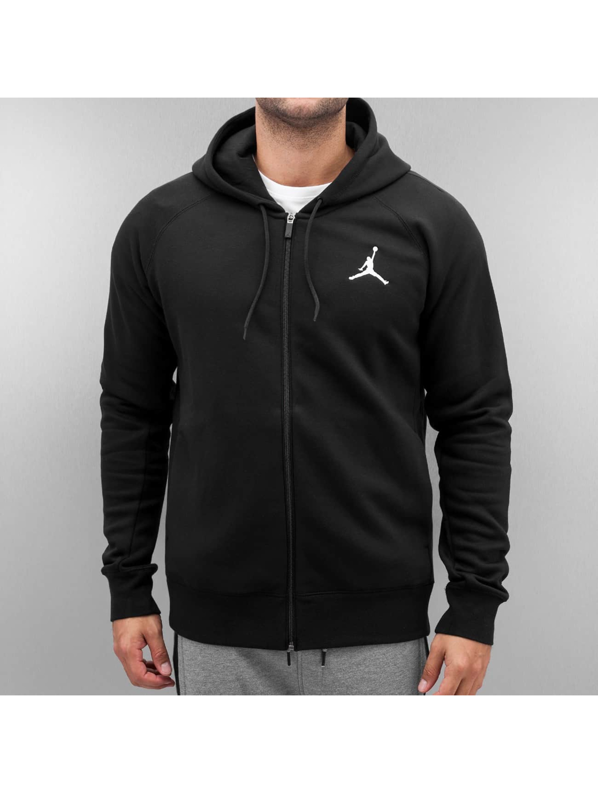 Jordan Zip Hoodie Flight black