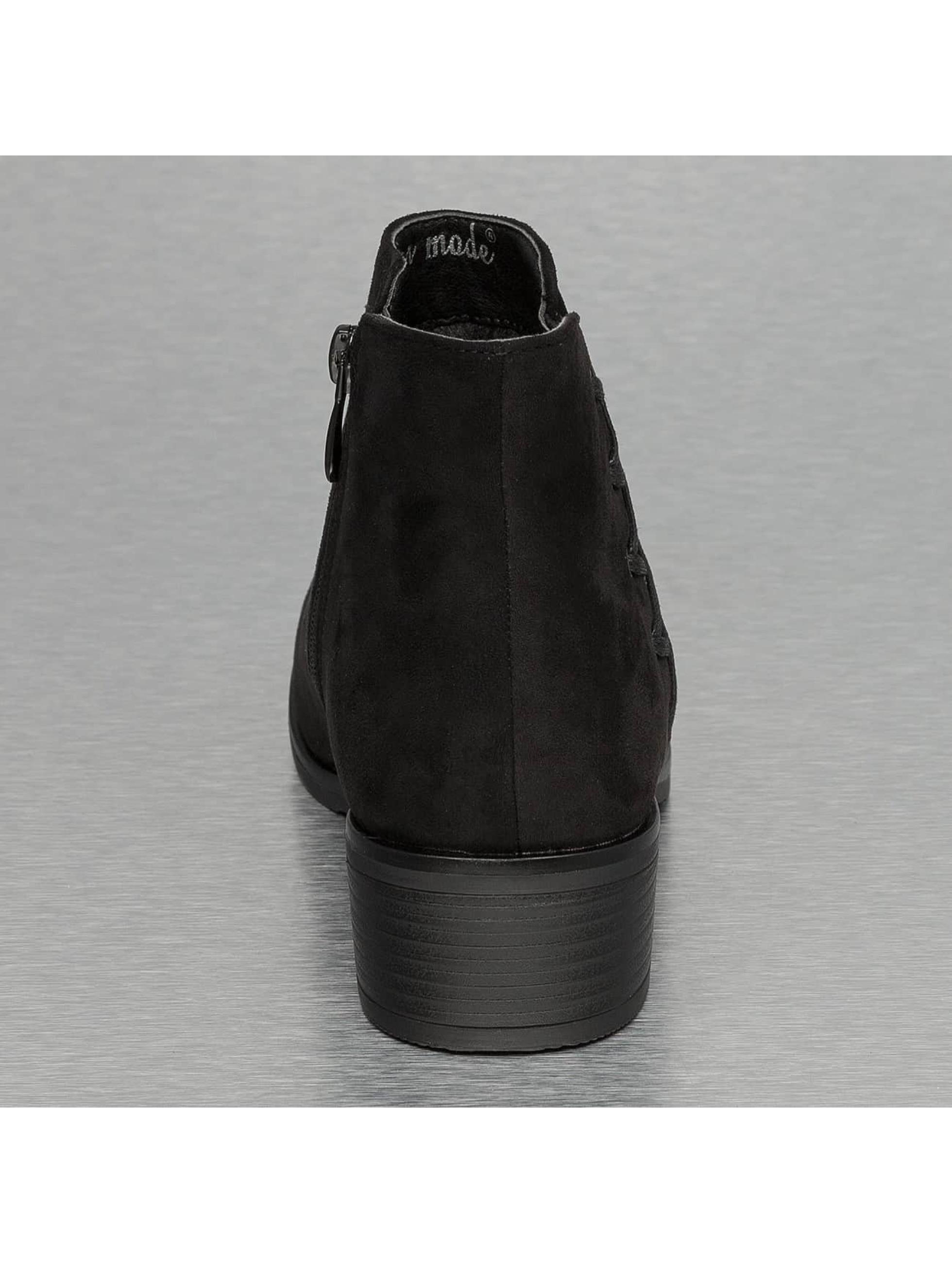 Jumex Čižmy/členkové čižmy Basic èierna