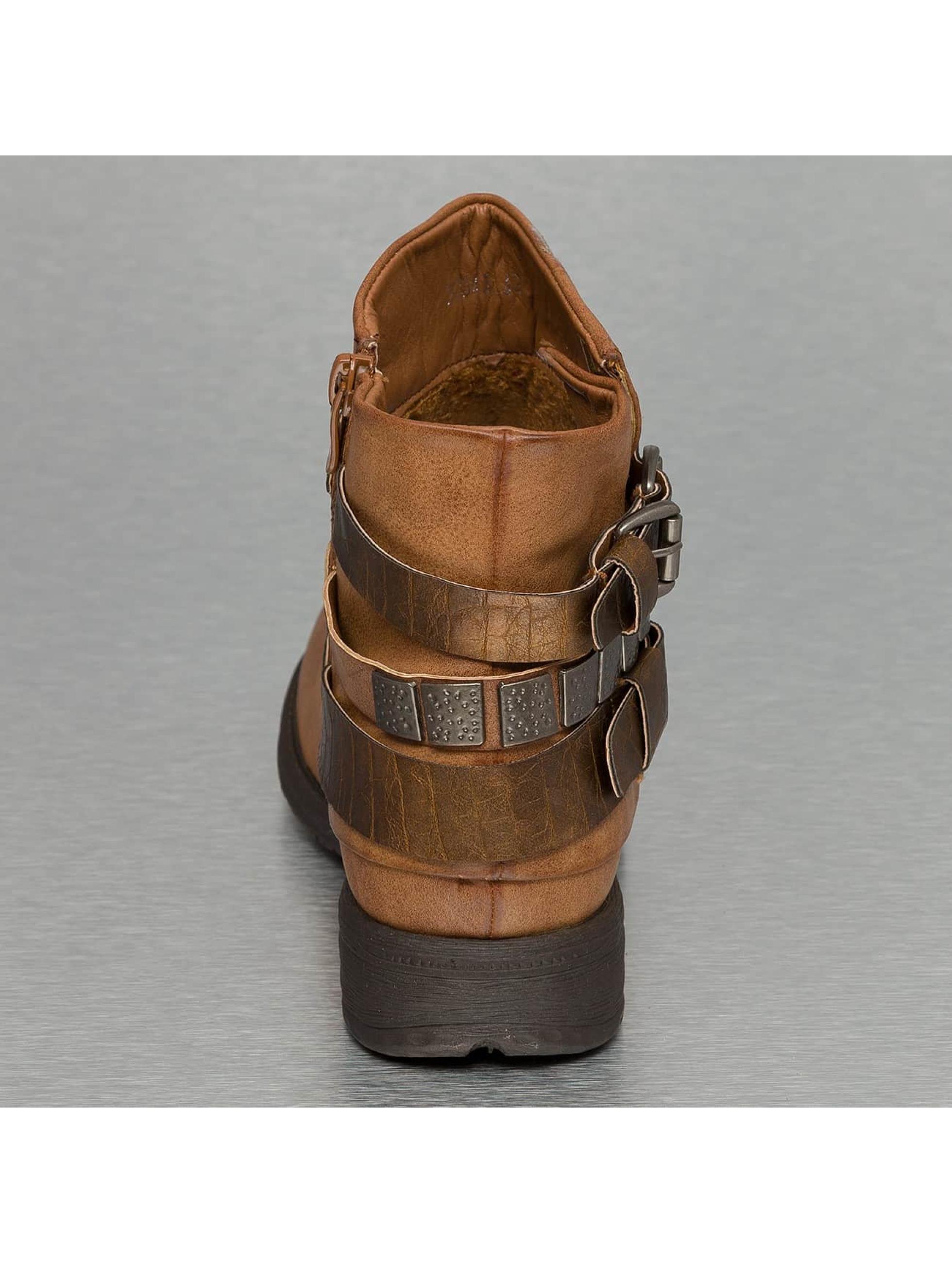 Jumex Сапоги / Полусапожки Chain Low B коричневый