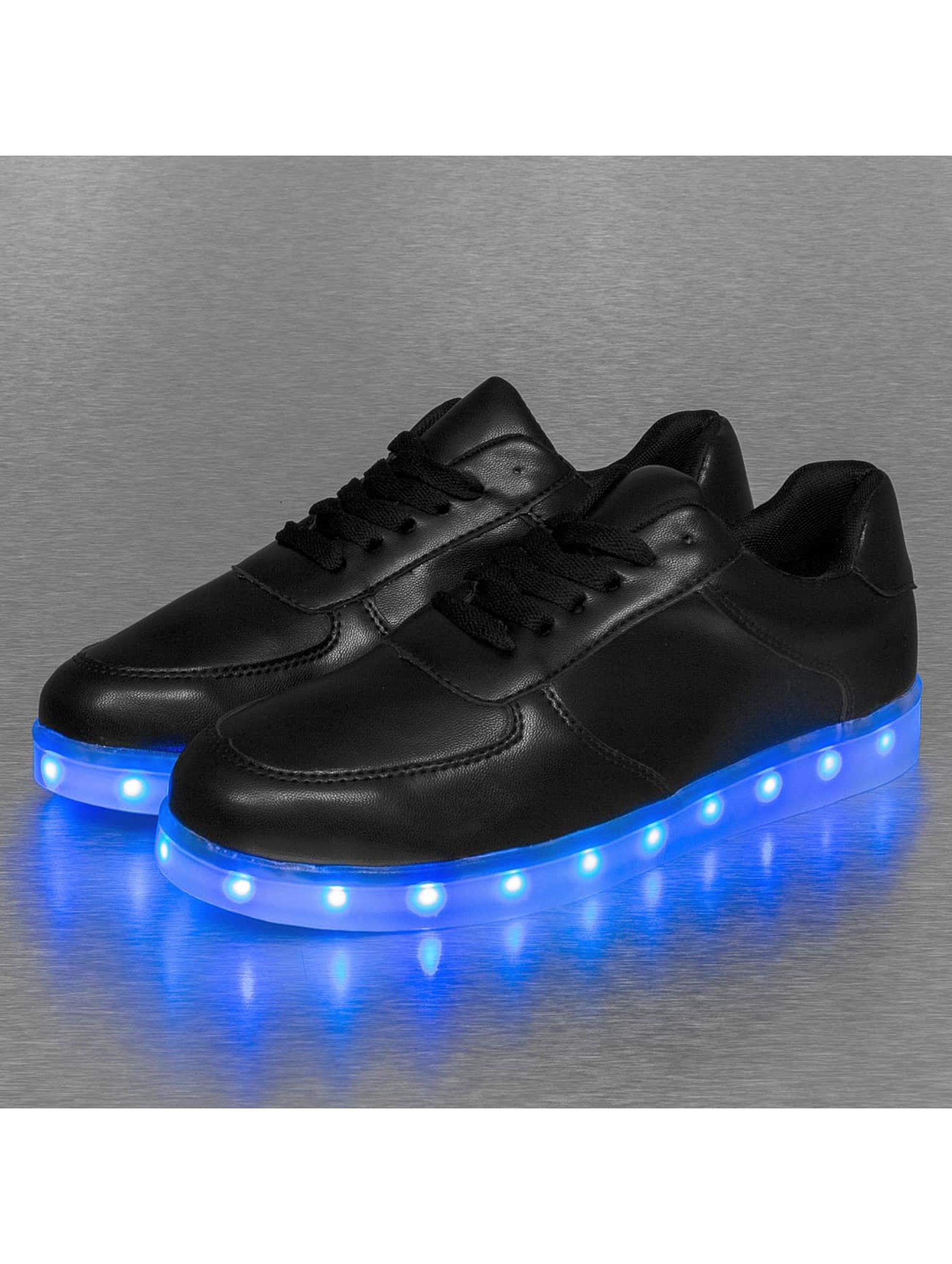 Jumex Сникеры Basic LED черный