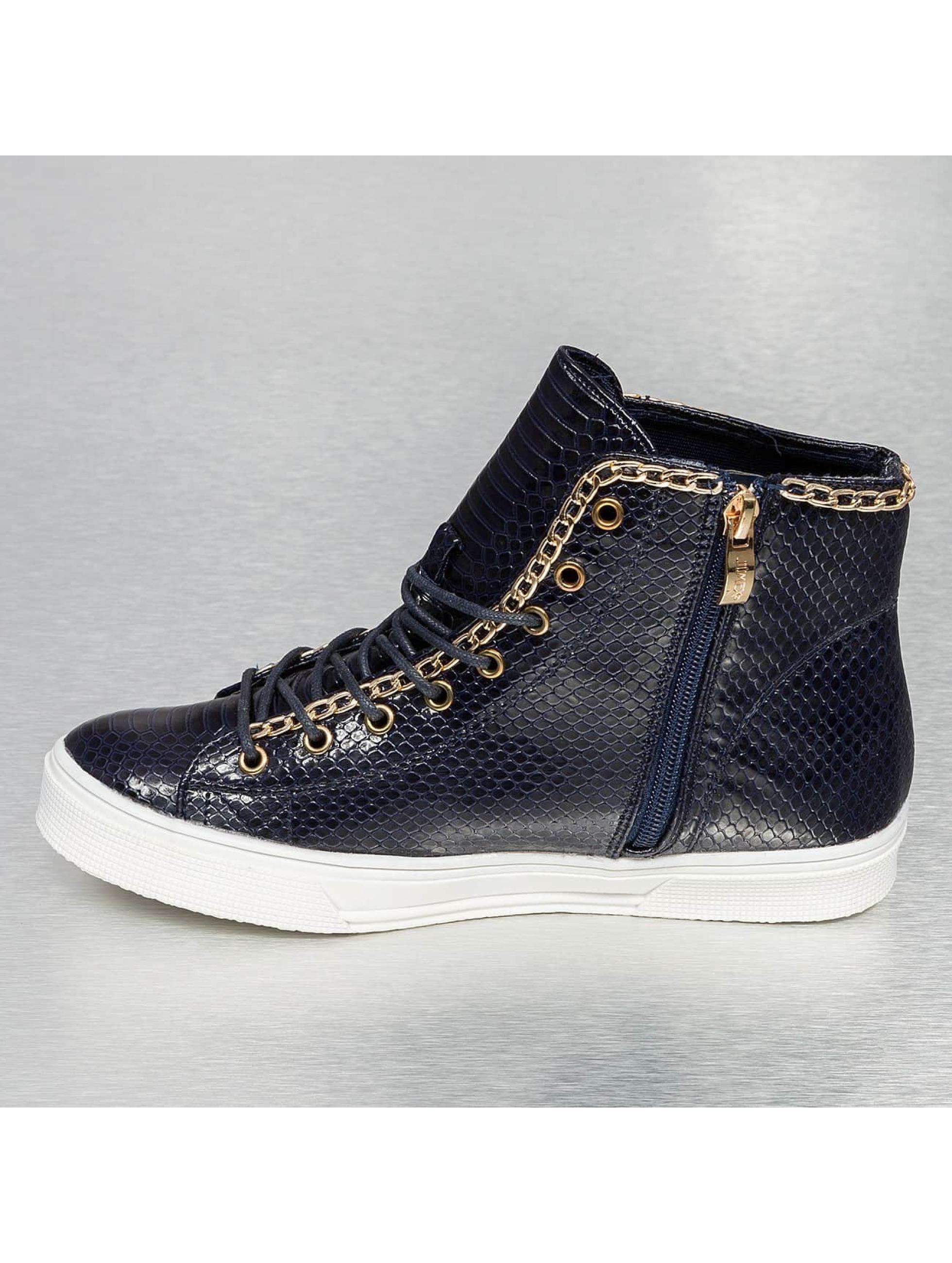 Jumex Baskets High Top bleu