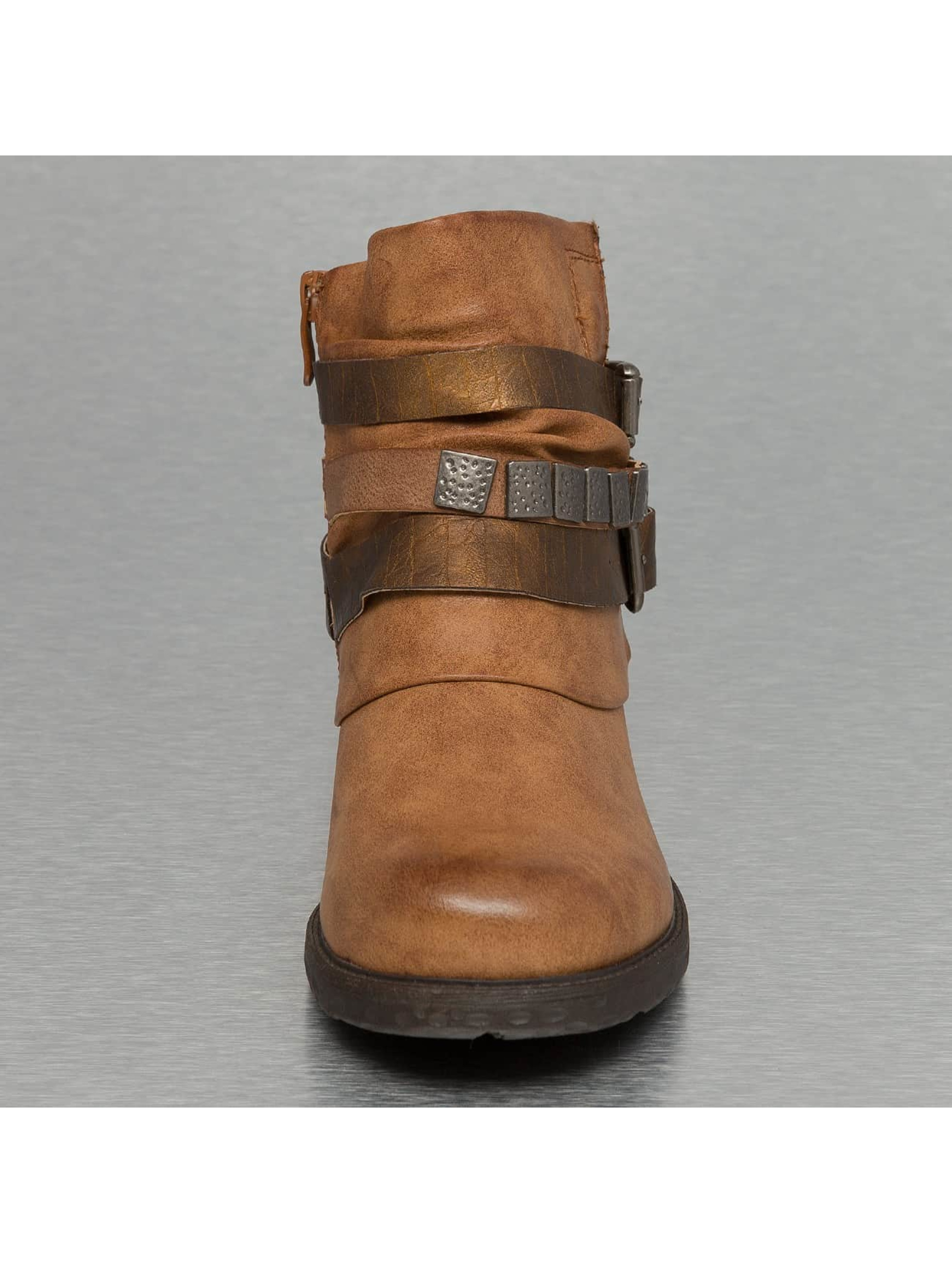 Jumex Boots/Ankle boots Chain Low B brown