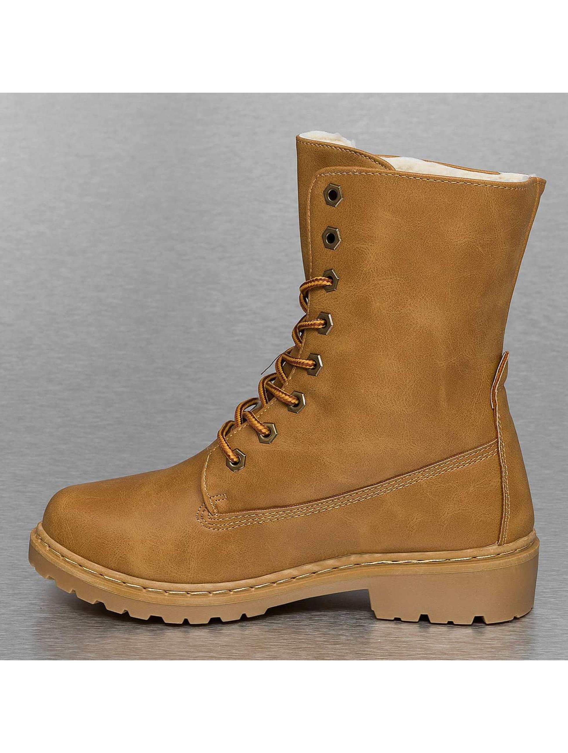 Jumex Boots Fur Basic braun