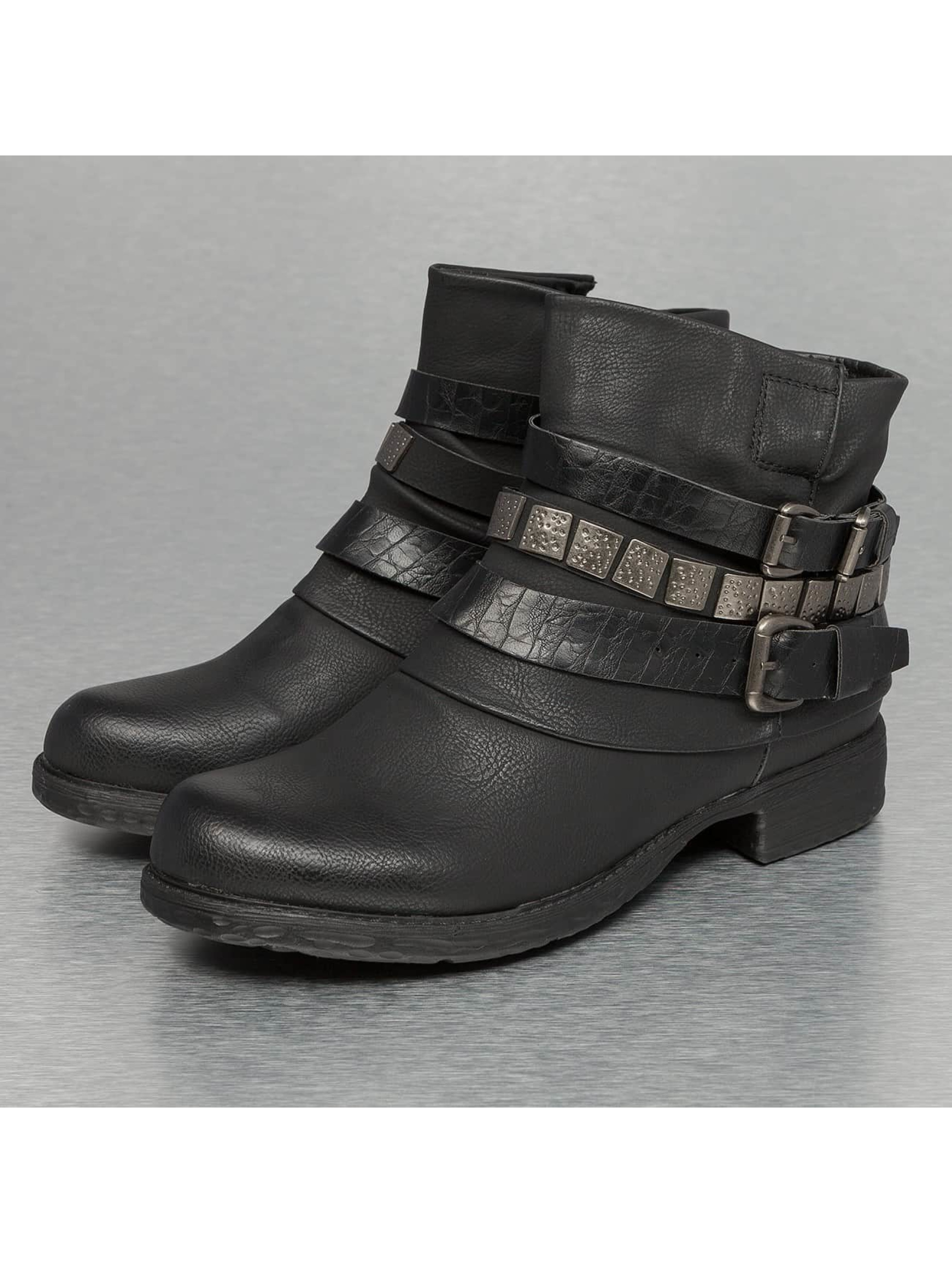 Jumex Chaussures / Botte/Bottine Chain Low en noir