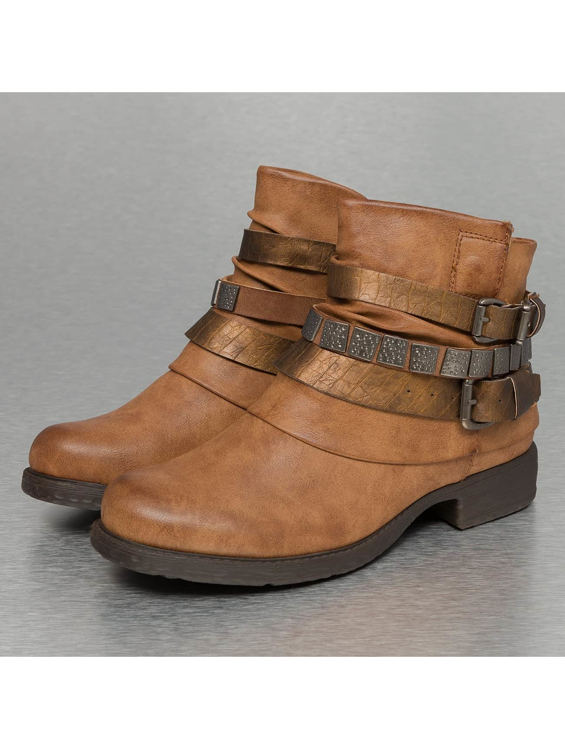 Jumex Bottines Chain Low B brun